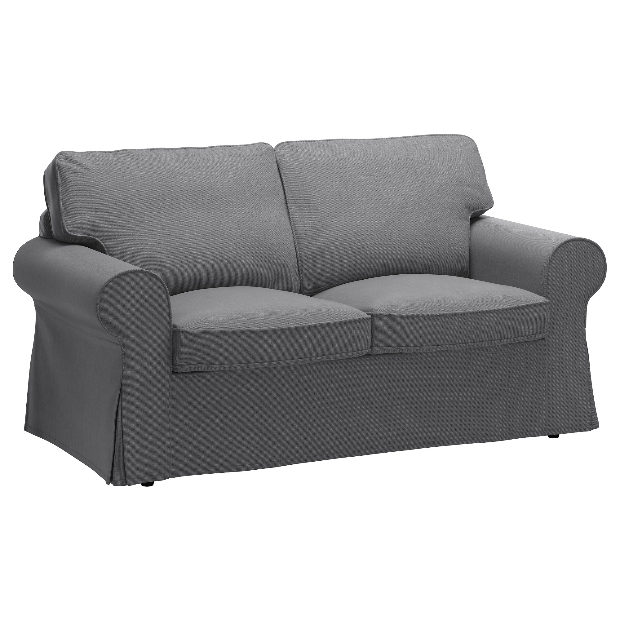 Recent Ektorp Two Seat Sofa Nordvalla Dark Grey – Ikea Intended For Ikea Sofa Chairs (View 14 of 20)