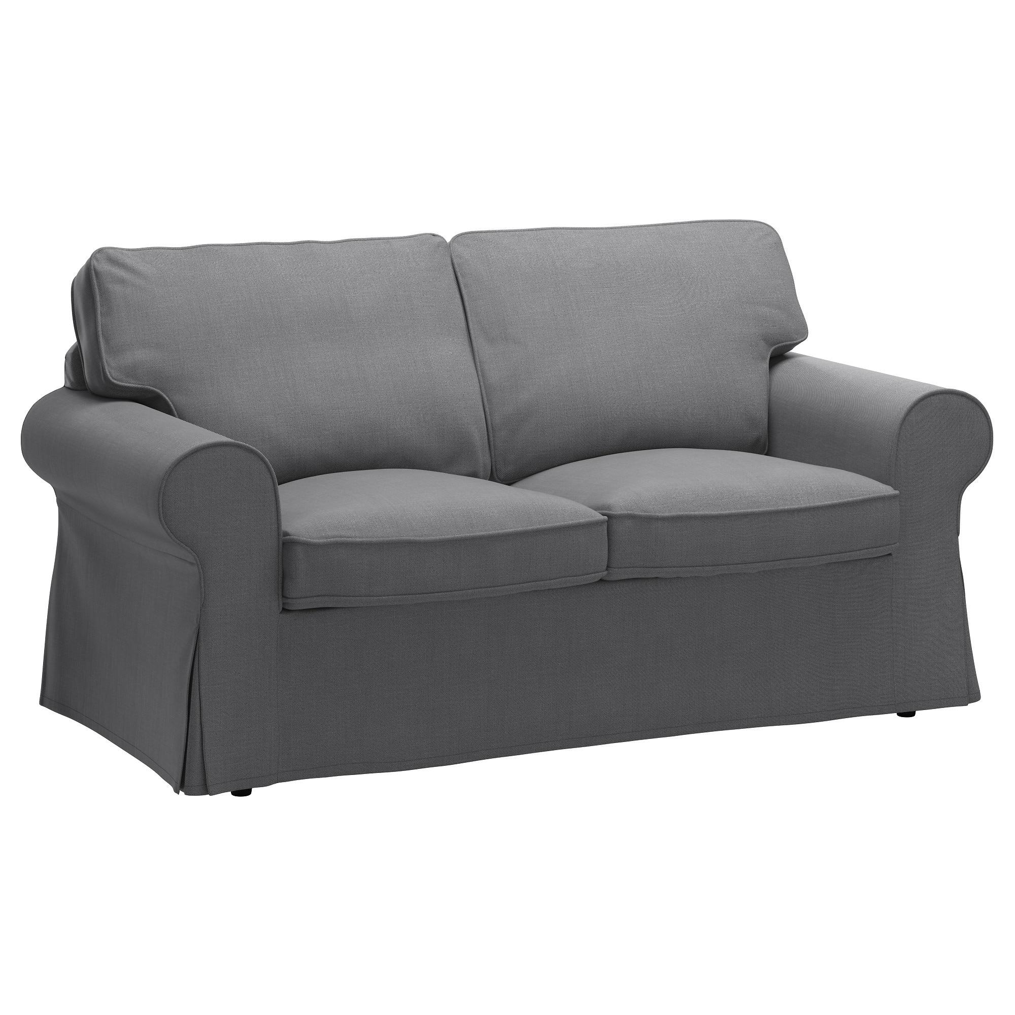 Recent Ektorp Two Seat Sofa Nordvalla Dark Grey – Ikea Intended For Ikea Sofa Chairs (View 12 of 20)