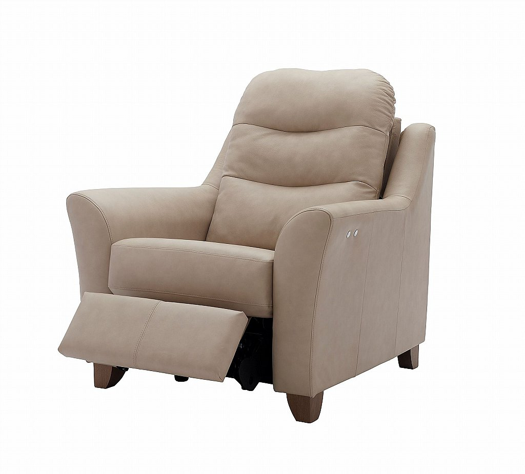 Recent G Plan Upholstery Tate Leather Recliner Chair In Tate Ii Sofa Chairs (View 3 of 20)