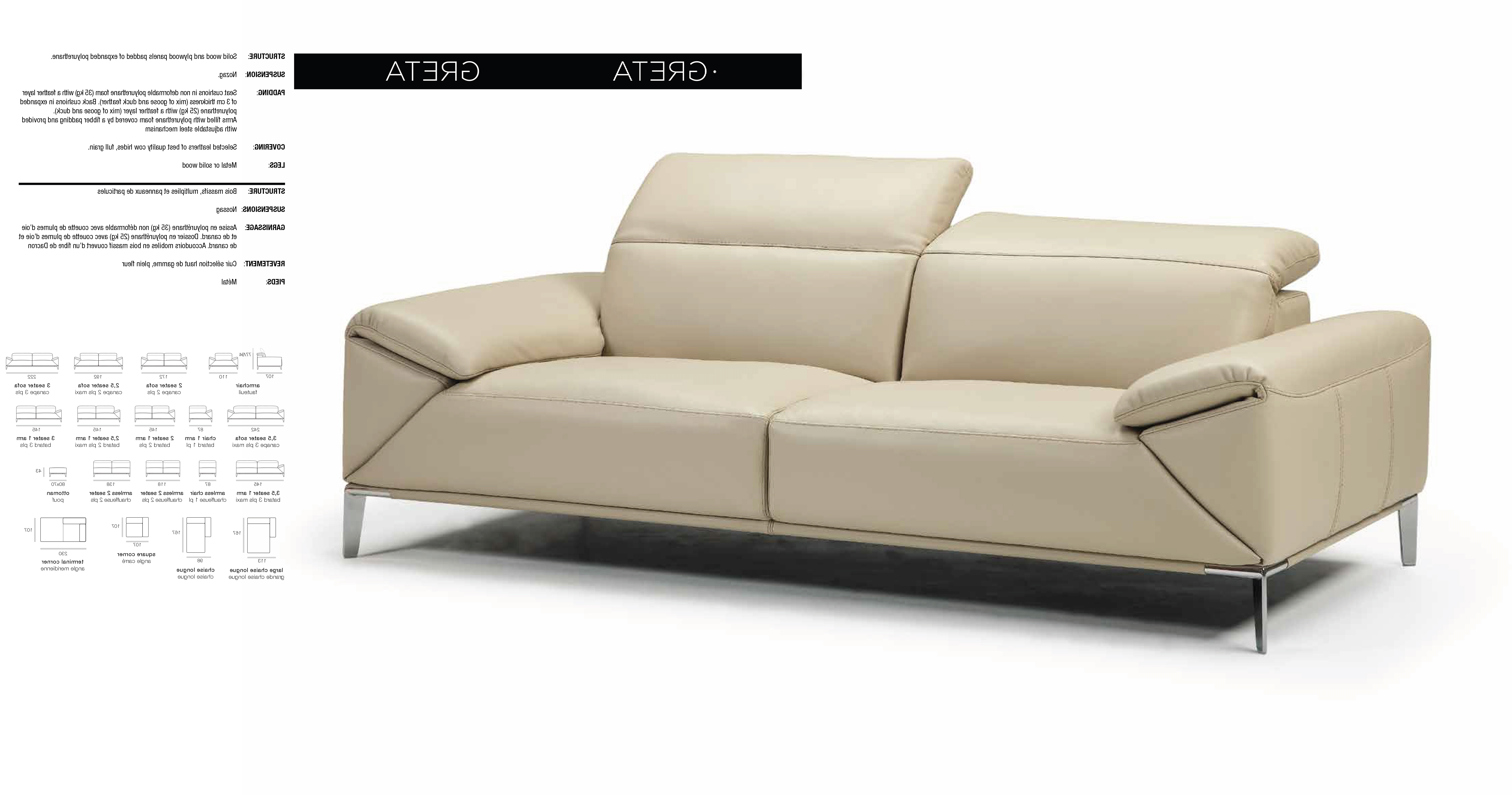 Recent Loft Arm Sofa Chairs Within Greta Sofa Set – Bellini Modern Living (View 15 of 20)