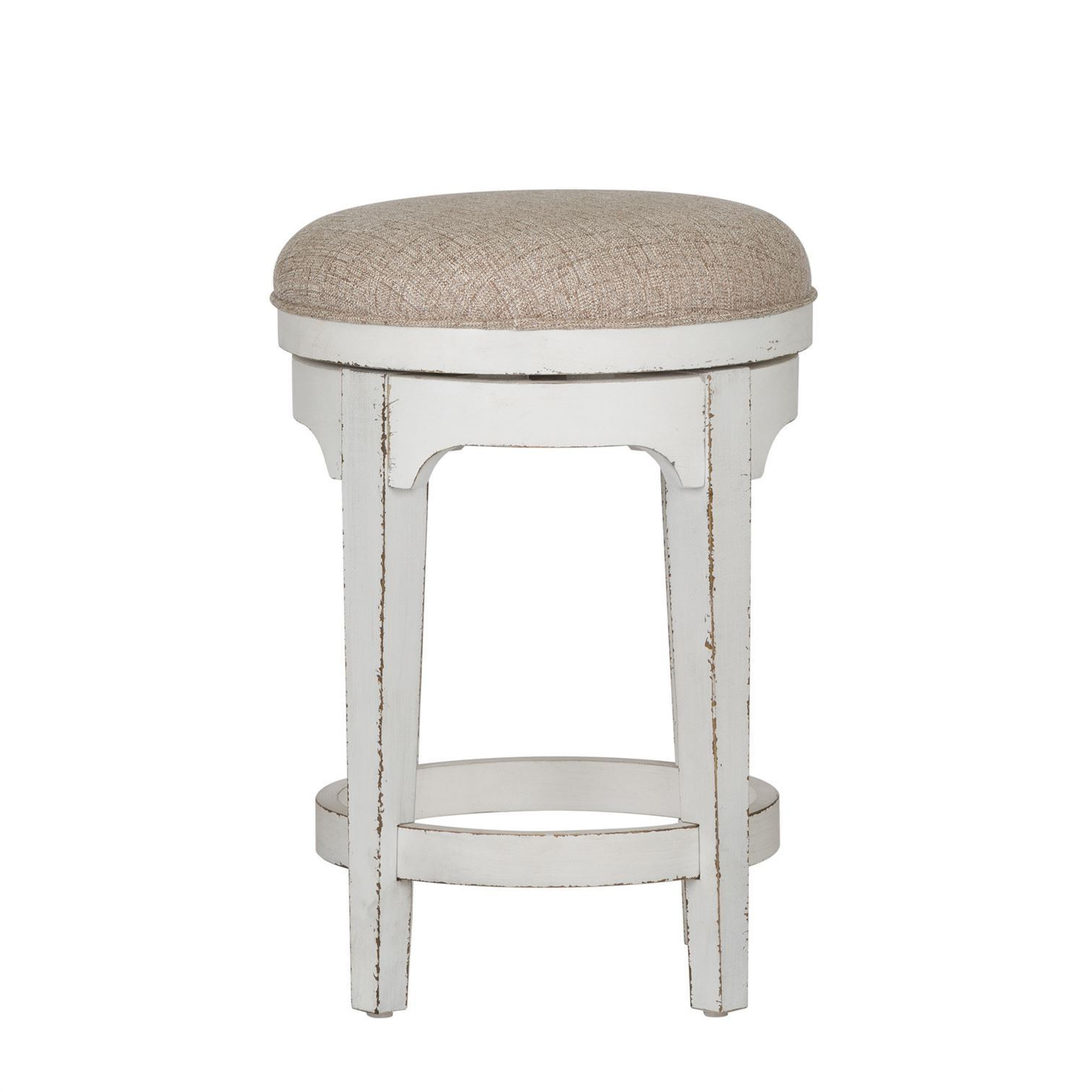 Recent Manor Grey Swivel Chairs With Regard To Magnolia Manor Swivel Backless Stool – Woodstock Furniture (View 19 of 20)
