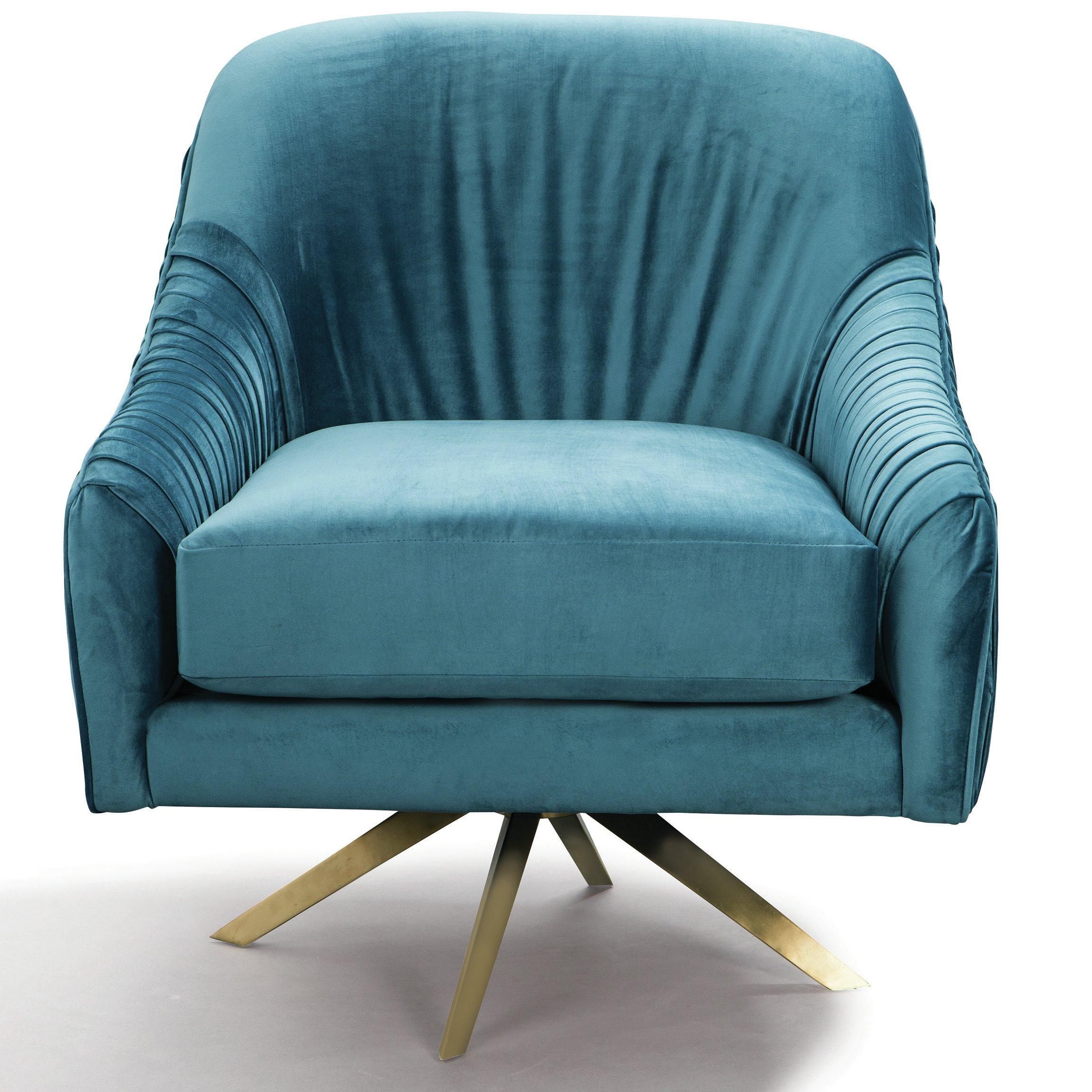 Recent Mercer Foam Swivel Chairs In Mercer41 Kinchen Swivel Armchair (Gallery 7 of 20)