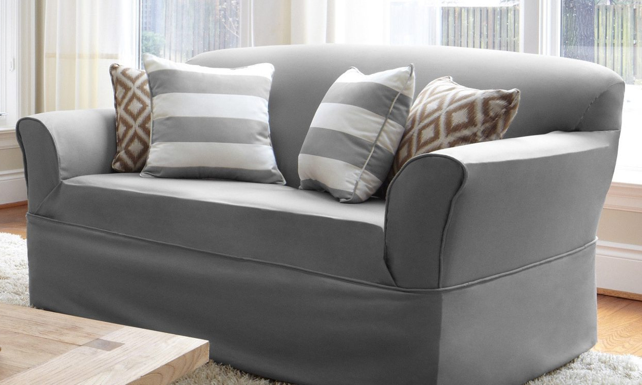 Recent Slipcovers For Sofas And Chairs Pertaining To Slipcovers Buying Guide – Overstock Tips & Ideas (Gallery 8 of 20)