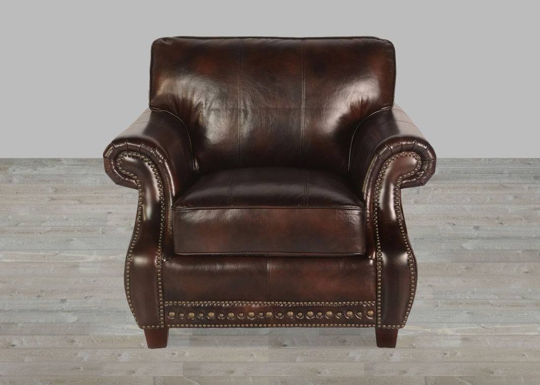Recent Toberlone Top Grain Leather Vintage Sofa With Antique Sofa Chairs (Gallery 19 of 20)