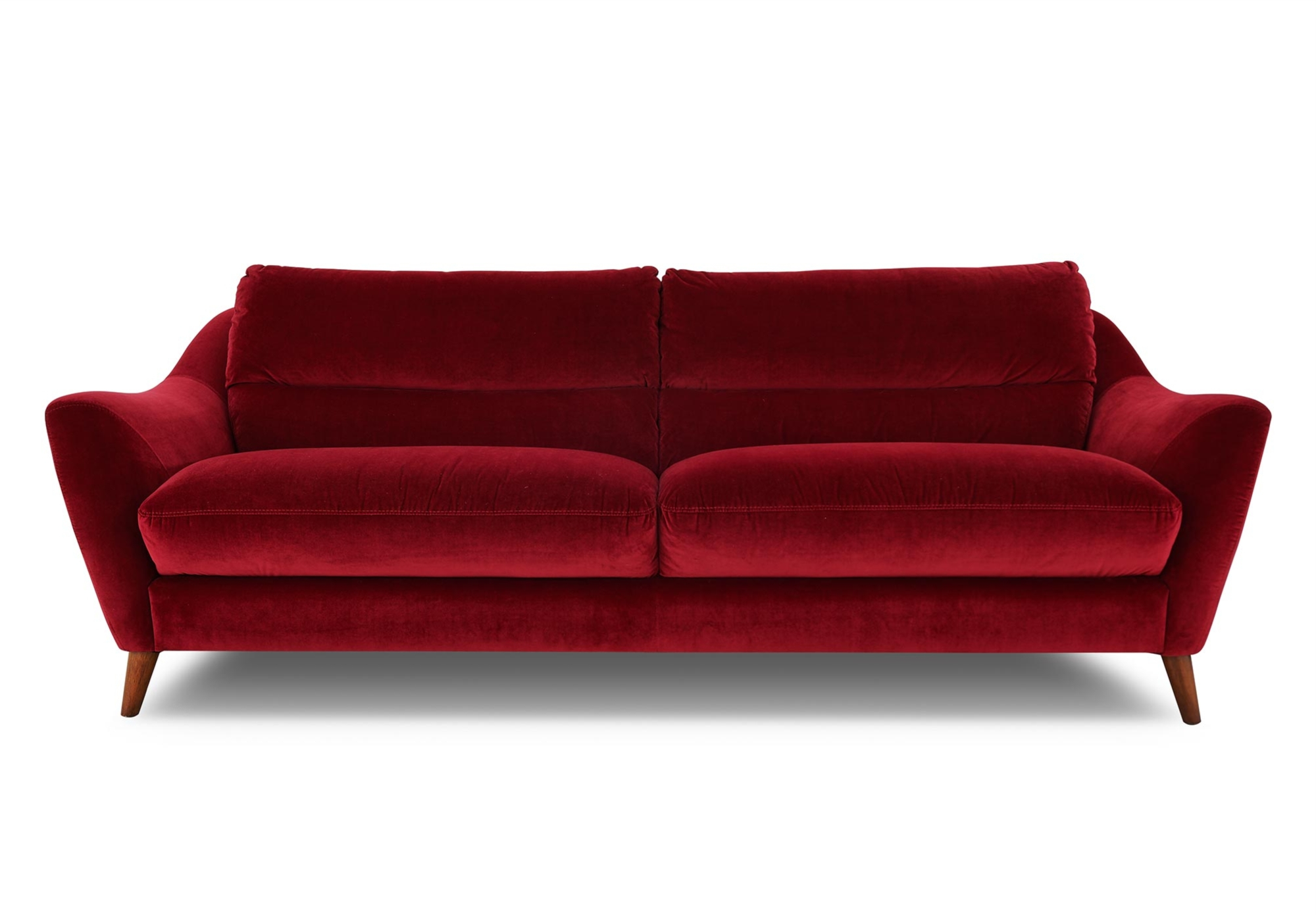 Red Sofas And Chairs Inside Well Known Sofa: Beautiful Fabric Sofa Fabric Sofas On Sale, Fabric Sectional (View 14 of 20)