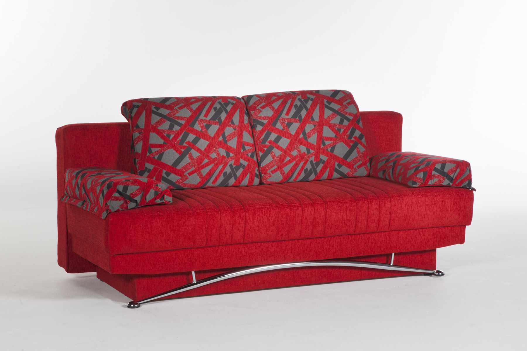 Red Sofas And Chairs Within Popular Fantasy Red Sofa Bed Sufantasy Sunset Furniture (Istikbal) Sleeper (View 15 of 20)