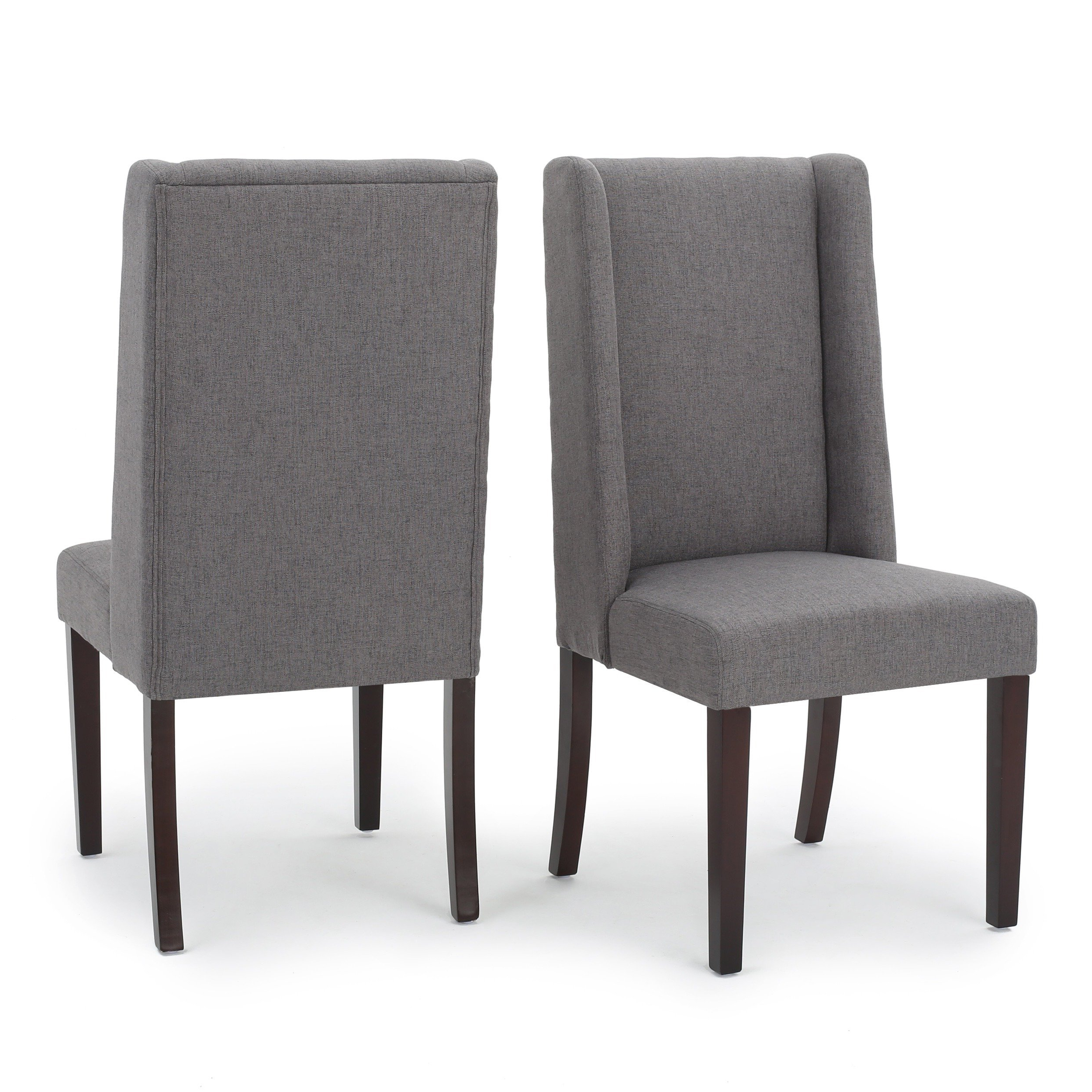 Rory Sofa Chairs Inside Most Recent Shop Rory Wing Back Fabric Dining Chair (set Of 2)christopher (View 11 of 20)