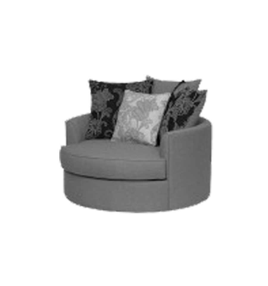 Round Sofa Chairs In Well Liked Asha Round Chair – Furniture Superstore Edmonton Alberta Canada (View 12 of 20)