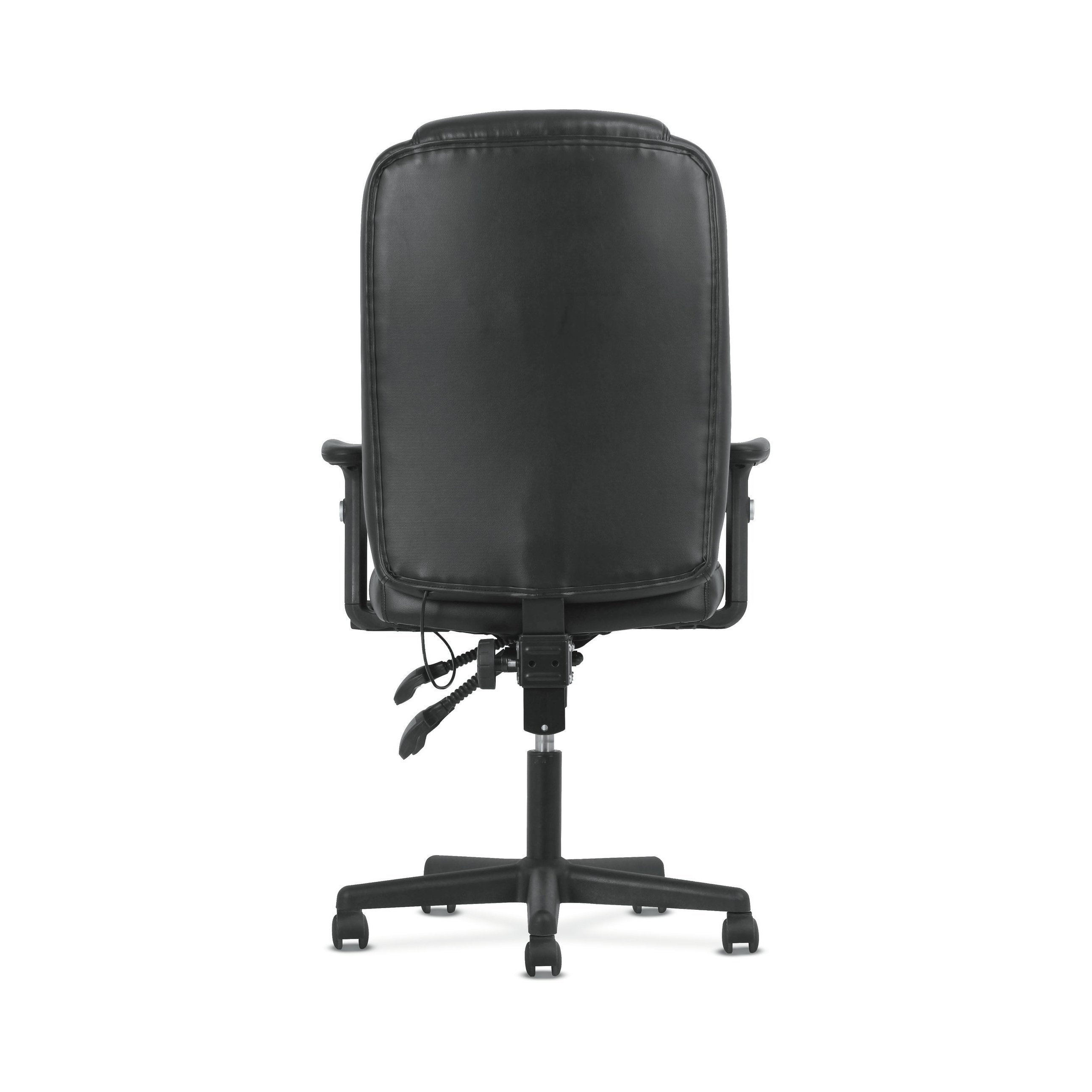 Sadie Ii Swivel Accent Chairs With Well Known Shop Sadie Black Softhread Leather High Back Adjustable Swivel (View 18 of 20)