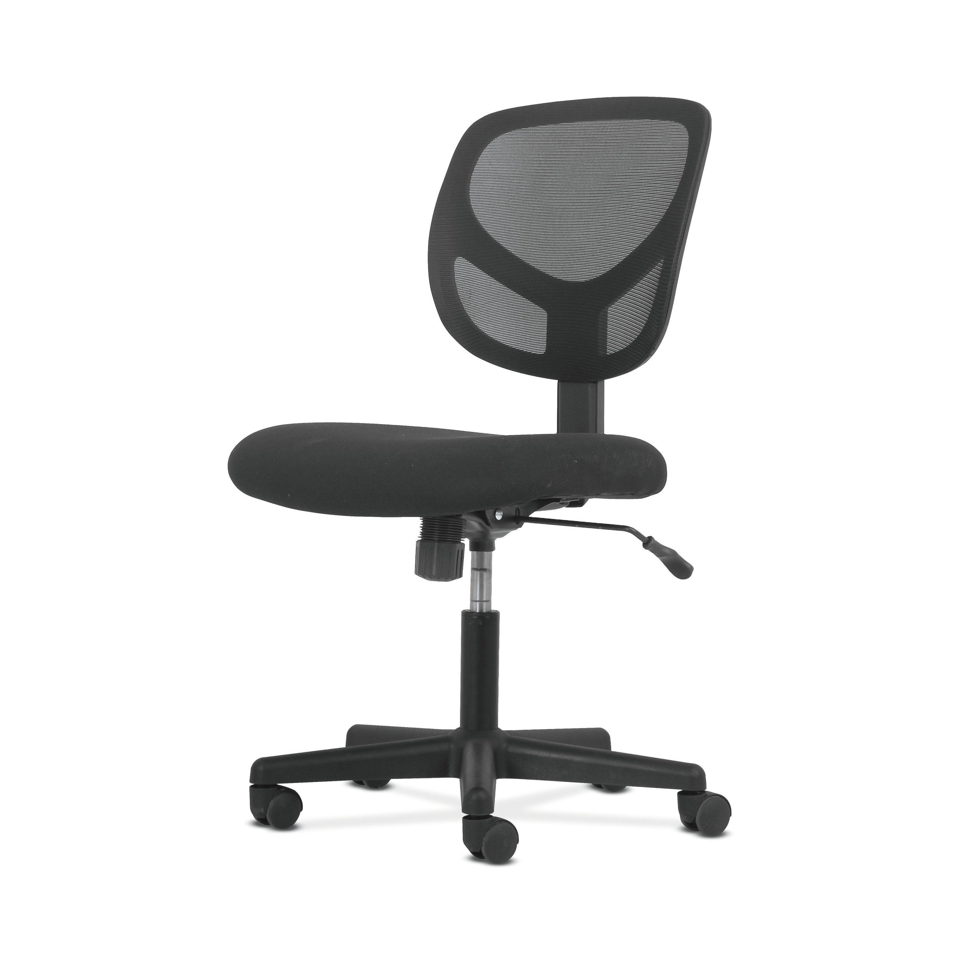 Shop Sadie Swivel Mid Back Mesh Task Chair Without Arms – Ergonomic Intended For 2018 Sadie Ii Swivel Accent Chairs (Gallery 9 of 20)