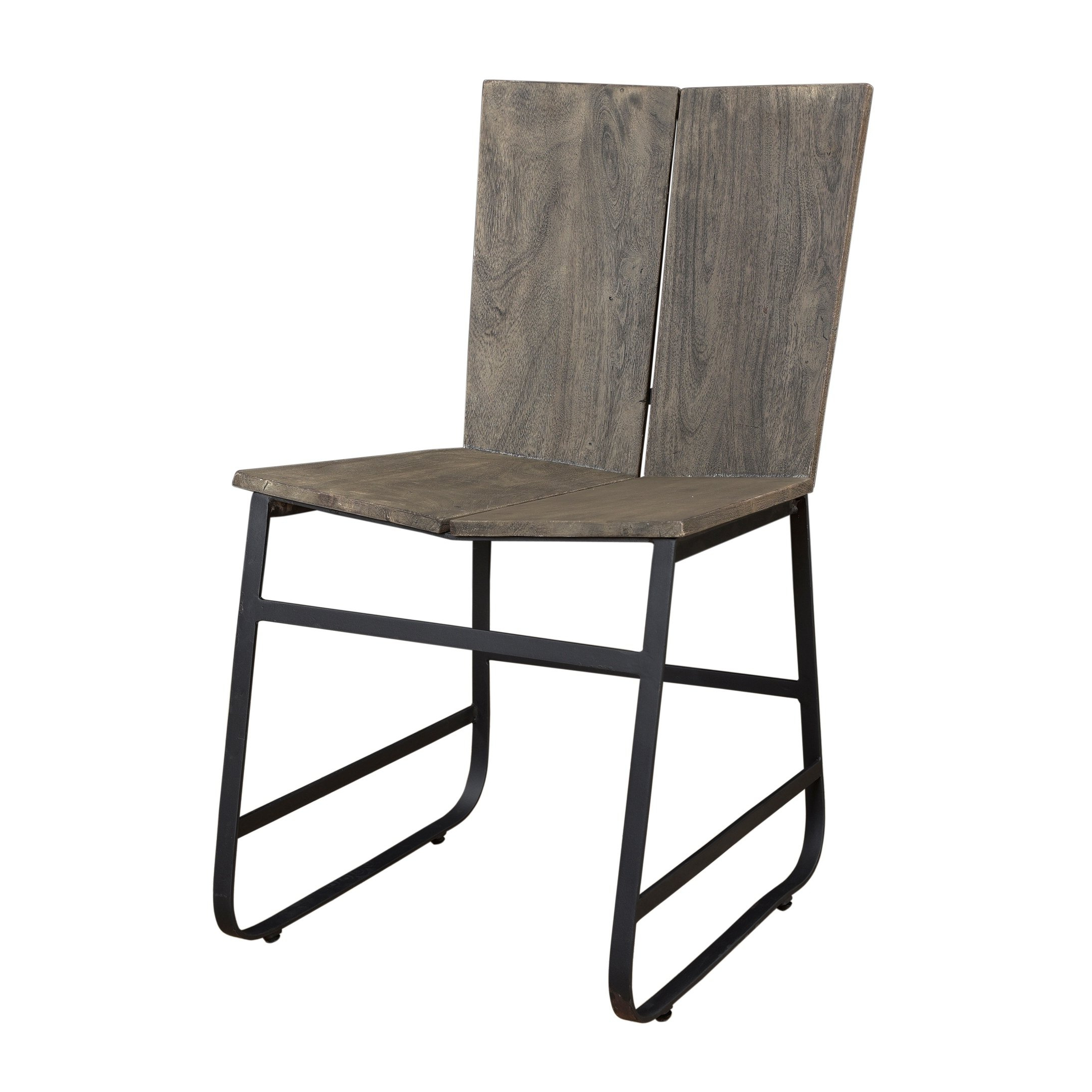 Shop Treasure Trove Tundra Smokey Grey Dining Chairs (set Of 2 In Well Known Loft Smokey Swivel Accent Chairs (View 13 of 20)