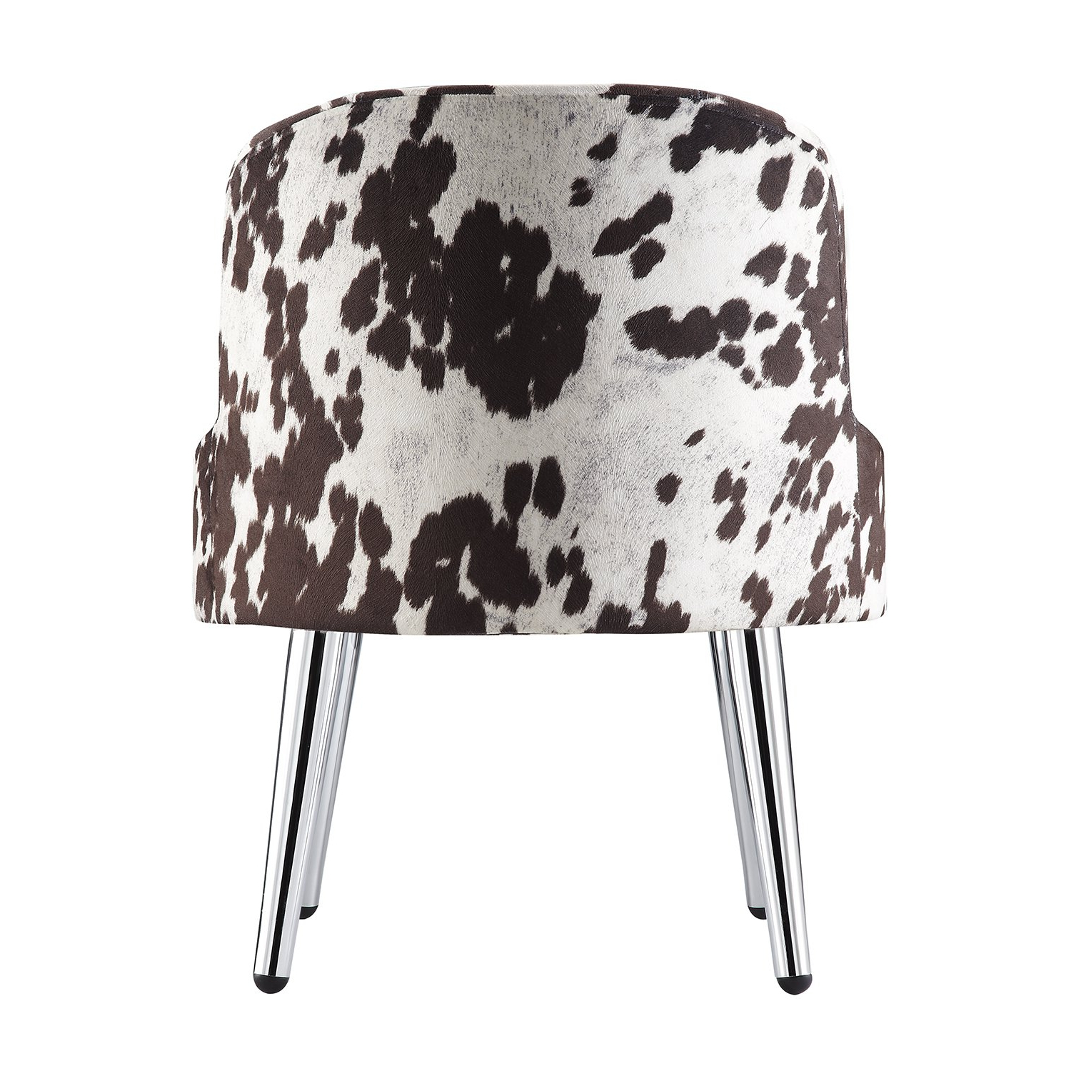 Shop Tribecca Home Bridgeport Ergonomic Contour Cowhide Fabric Within Famous Circuit Swivel Accent Chairs (View 13 of 20)