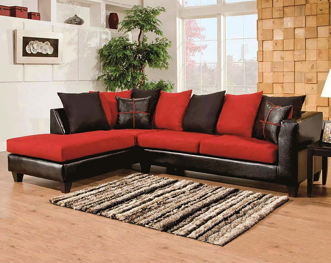 Sierra Cardinal 2 Piece Sectional (Gallery 9 of 20)