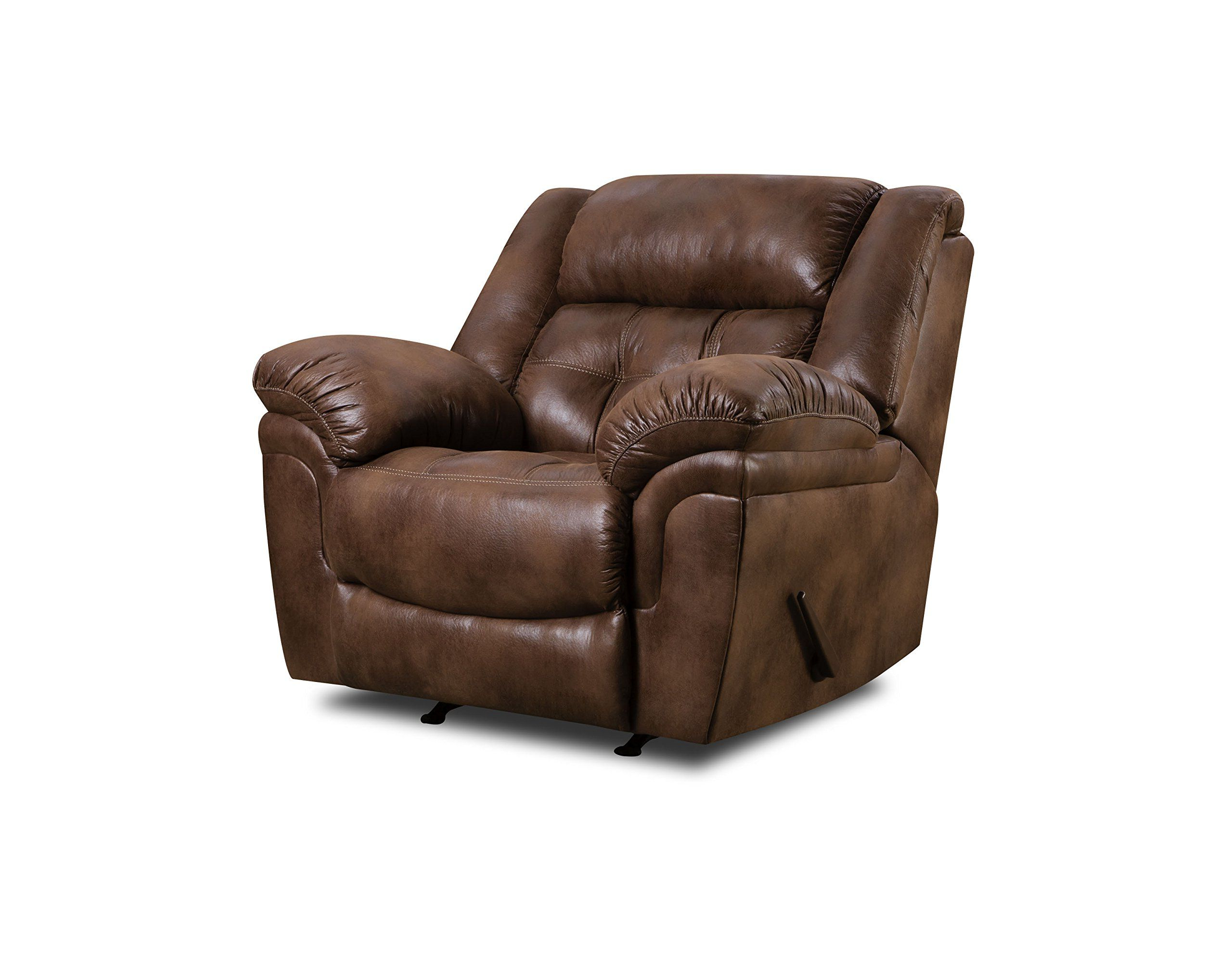 Simmons Upholstery Wisconsin Beautyrest Rocker Recliner Wisconsin Inside Latest Hercules Chocolate Swivel Glider Recliners (View 9 of 20)