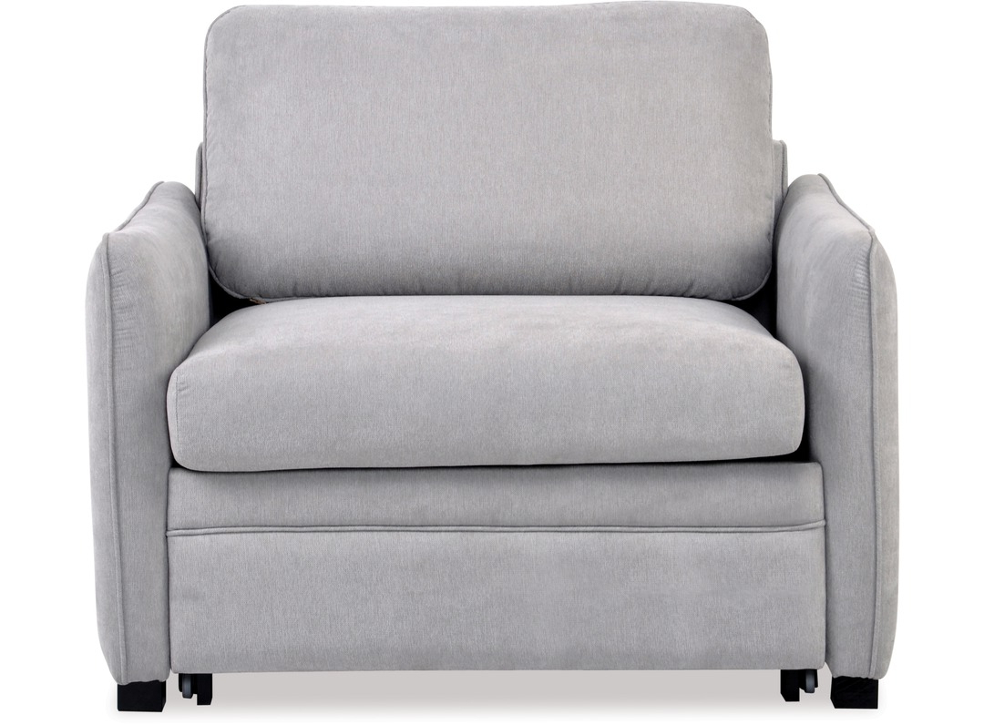 Single Chair Sofa Bed With Well Liked Zac Single Sofa Bed Chair (View 2 of 20)