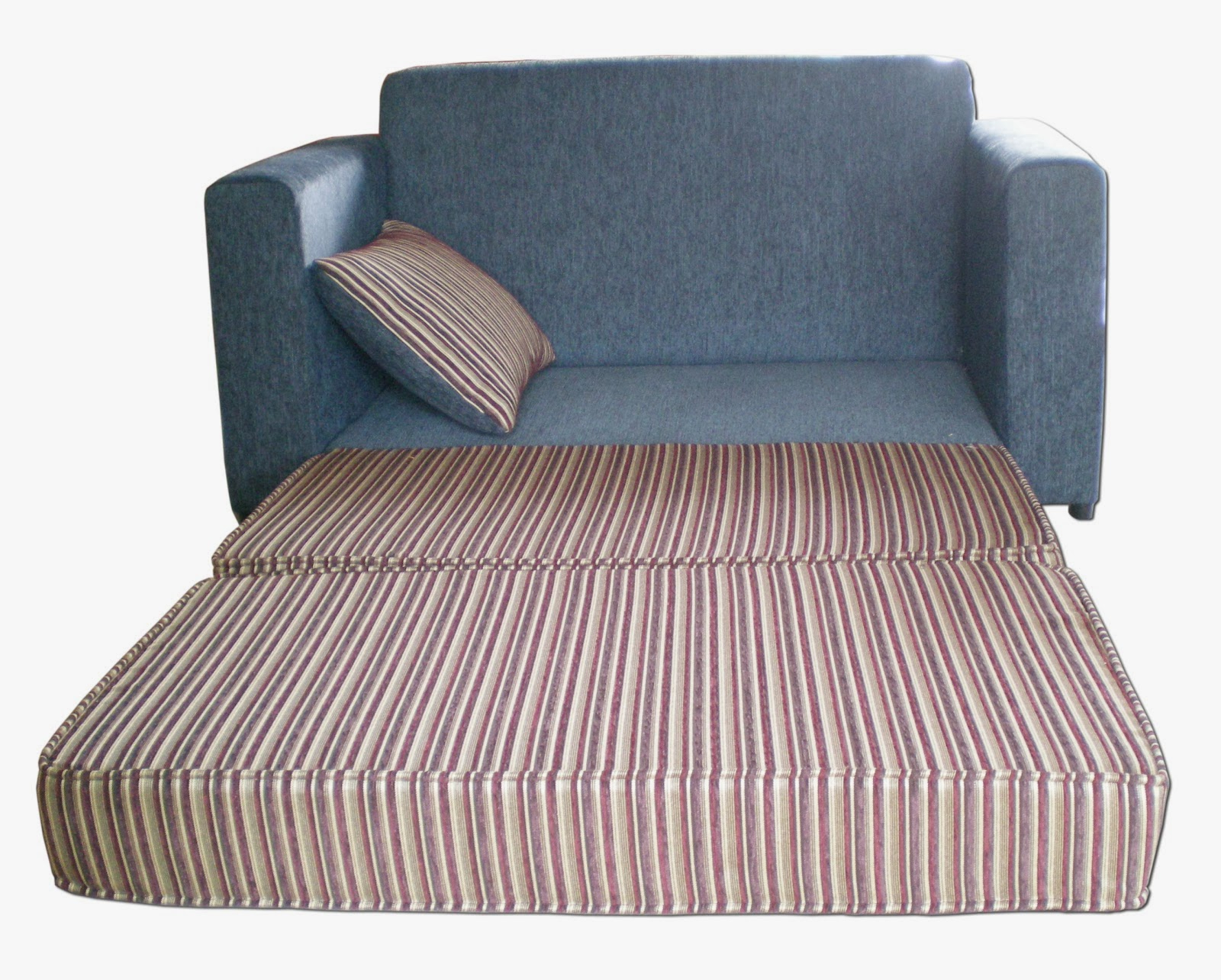Single Sofa Bed Chairs Intended For 2018 Sleeper Sofa Single Couch Bed W Pull Out Chairs For Fold Mat Bed (View 20 of 20)