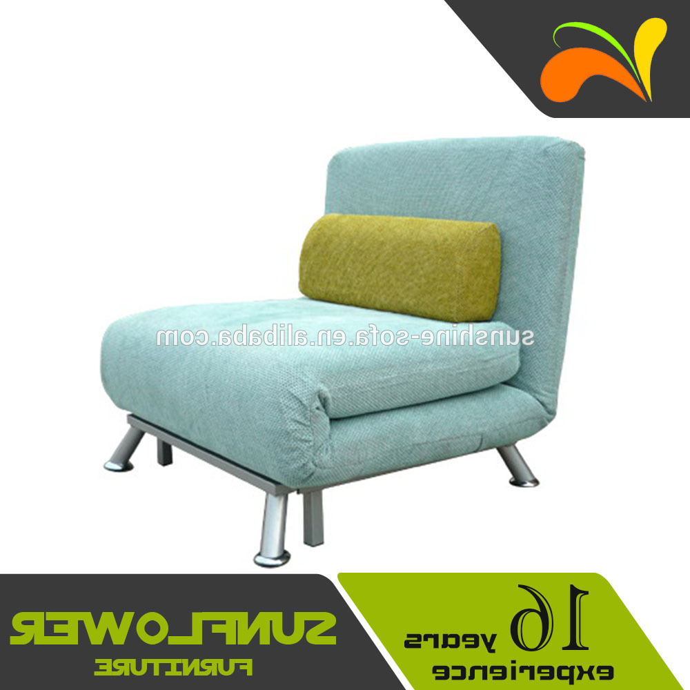 Single Sofa Bed Chairs Pertaining To Most Current Metal Frame Folding Single Sofa Bed Chair – Buy Sofa Chair,folding (Gallery 16 of 20)