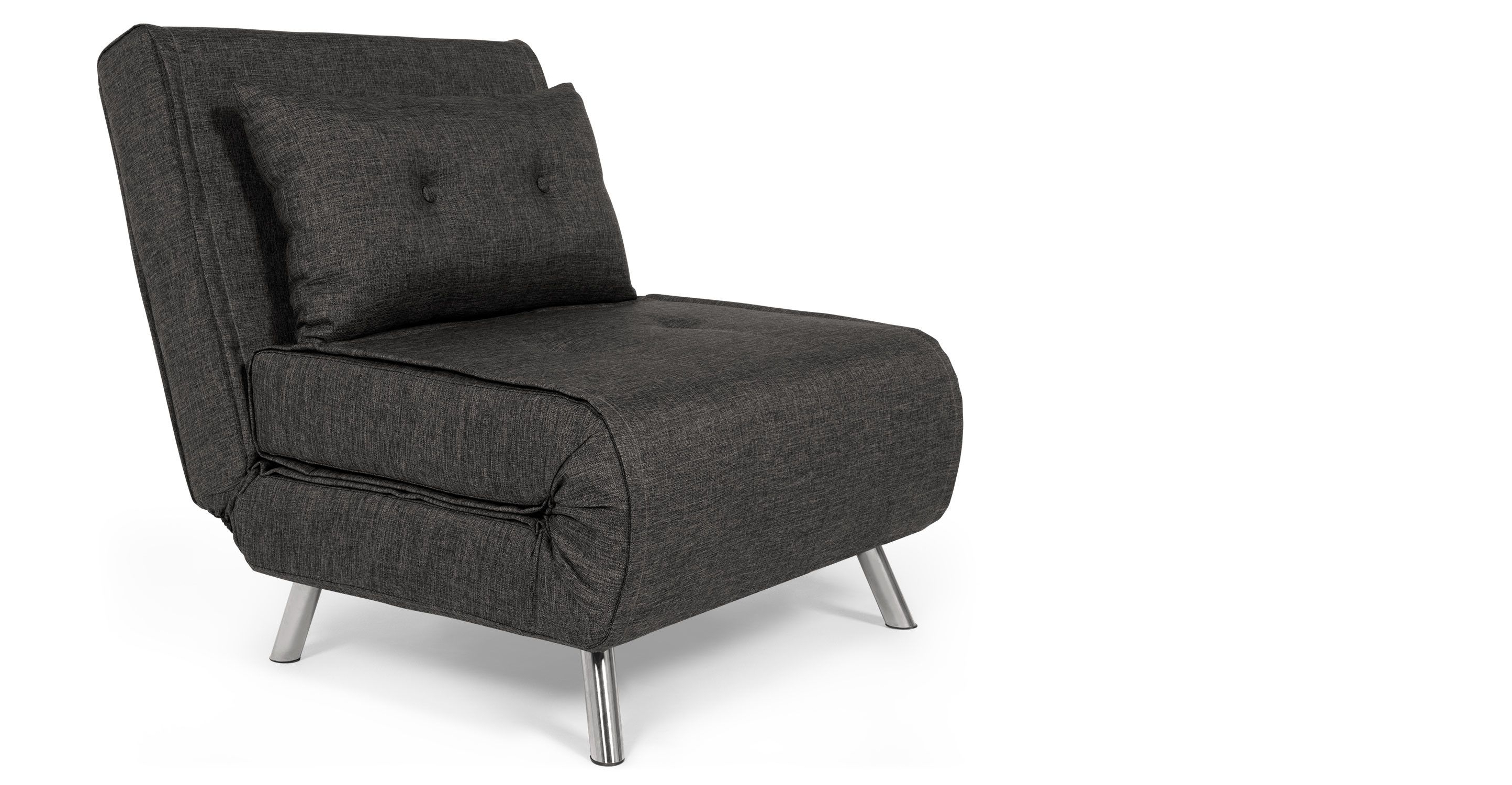 Single Sofa Bed Chairs With Most Up To Date Made Single Sofa Bed, Cygnet Grey. Express Delivery (View 6 of 20)