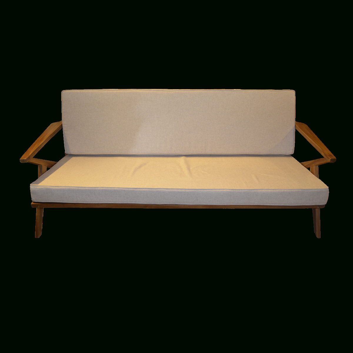 Sofa 160 – Teak Scandinavian (View 7 of 20)