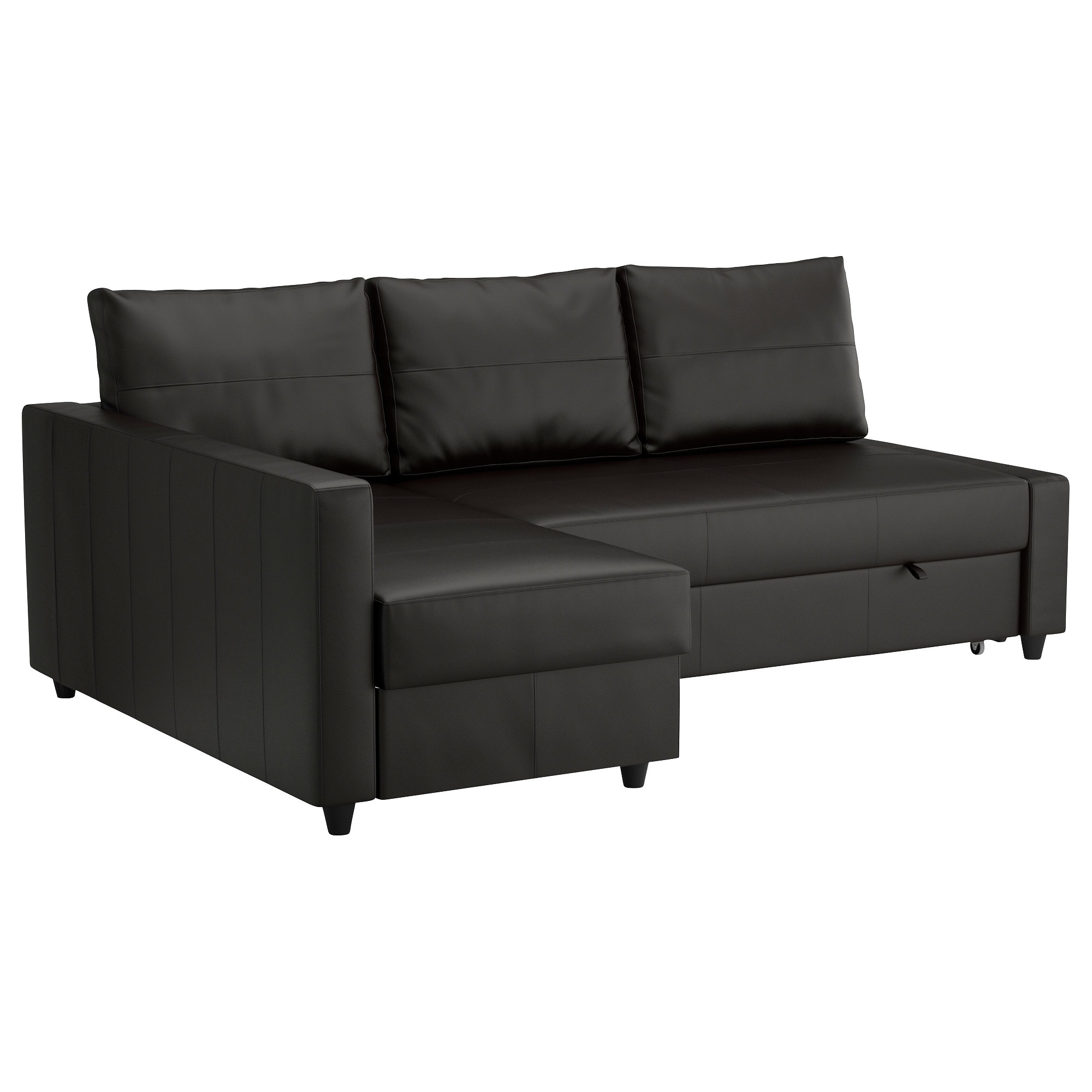Sofa Bed Chairs For Newest Friheten Corner Sofa Bed With Storage Bomstad Black – Ikea (View 13 of 20)