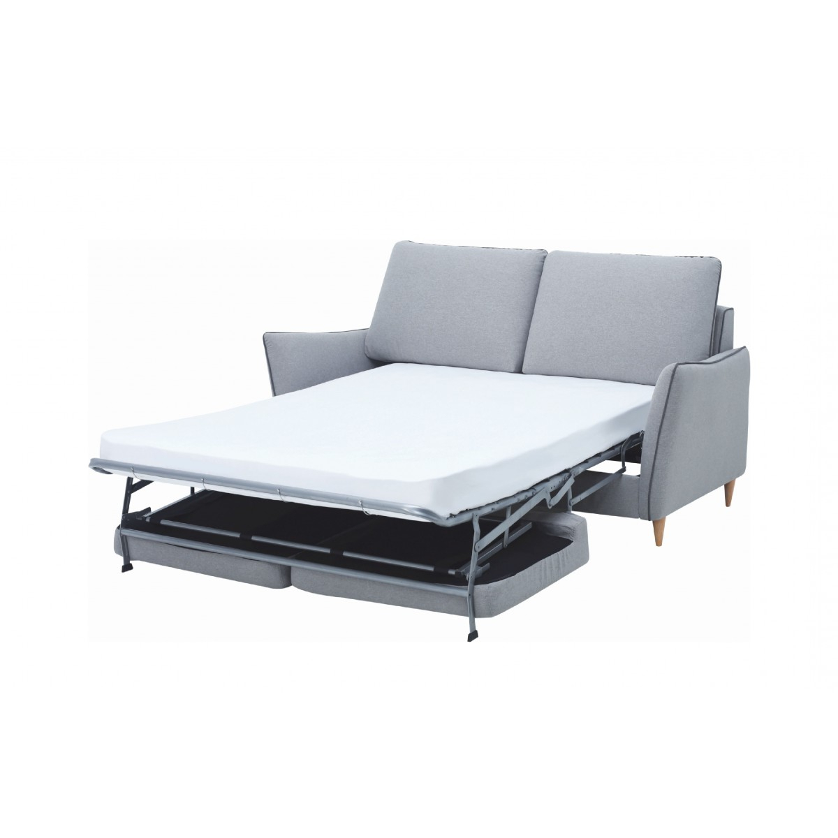 Sofa Bed Chairs Inside Favorite Agera Sofa Bed With Pale Silver Colour Dimity Fabric – Sofa Bed (View 14 of 20)