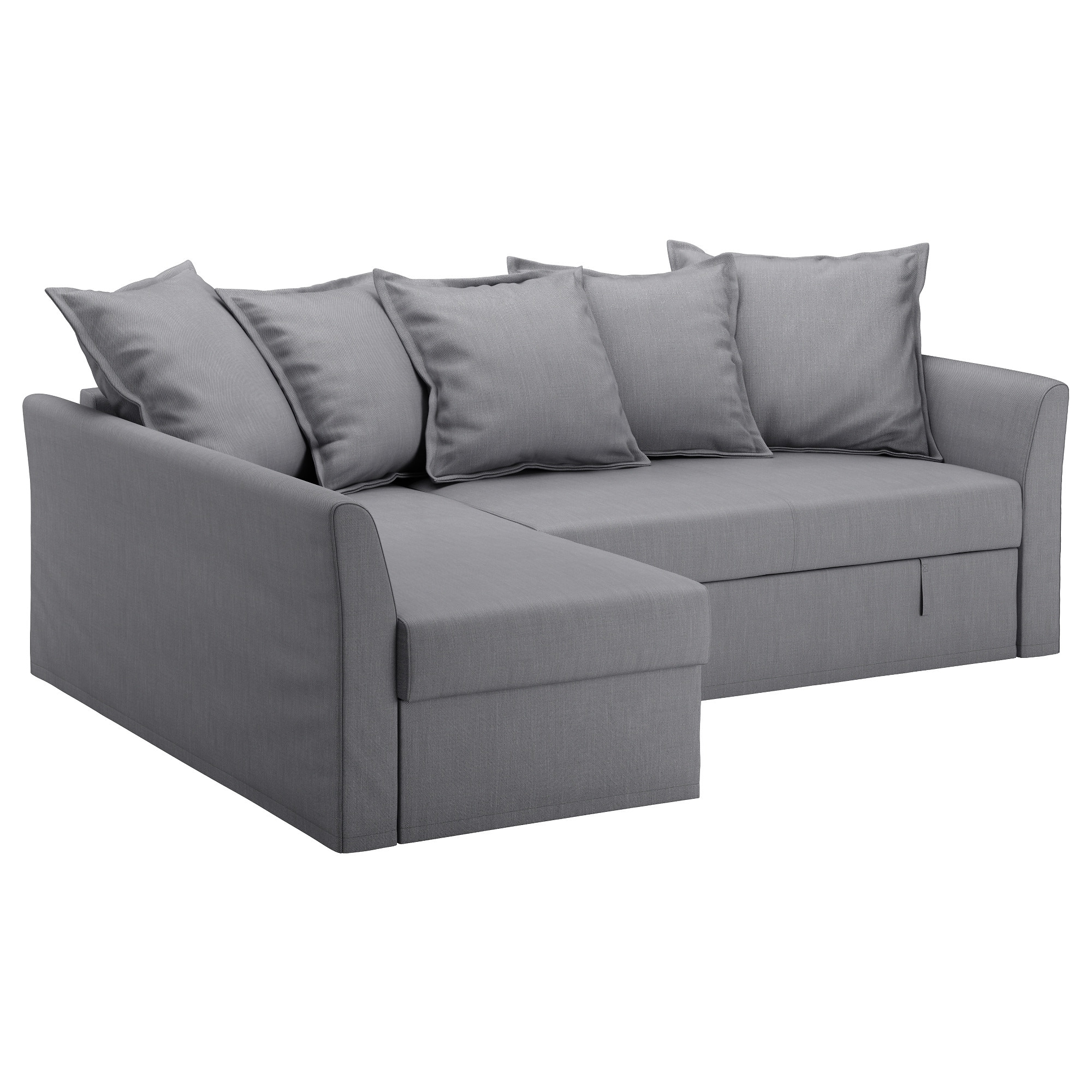 Sofa Beds Chairs Intended For Most Recently Released Holmsund Corner Sofa Bed Nordvalla Medium Grey – Ikea (View 5 of 20)