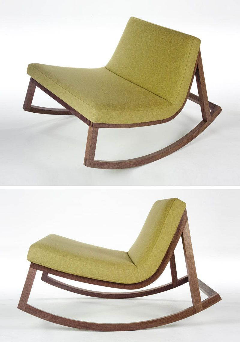 Sofa Rocking Chairs Within Most Recent Furniture Ideas – 14 Awesome Modern Rocking Chair Designs For Your (View 18 of 20)