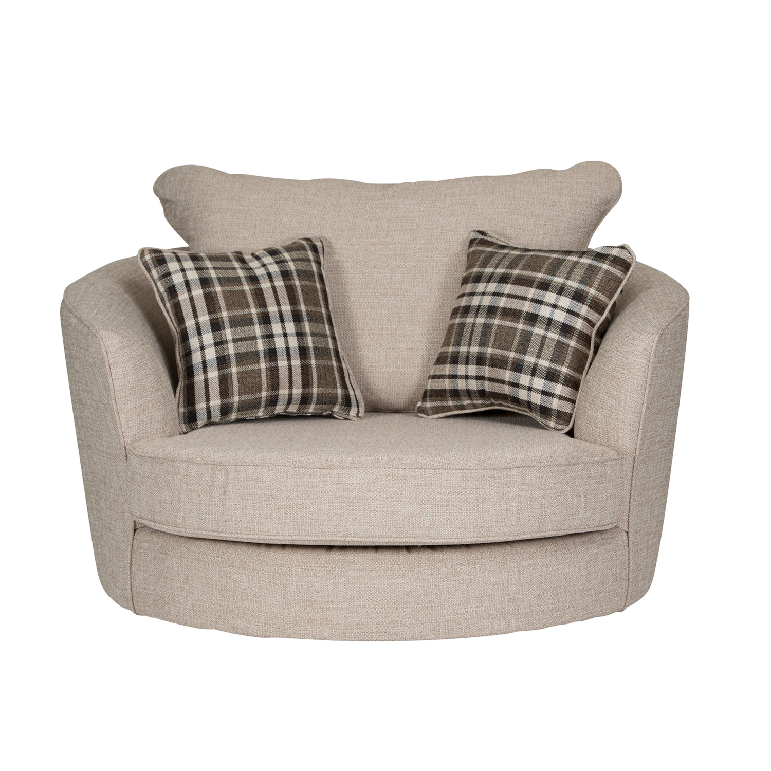 Sofa With Swivel Chair With Regard To Newest Wilcot Check Swivel Chair (View 14 of 20)