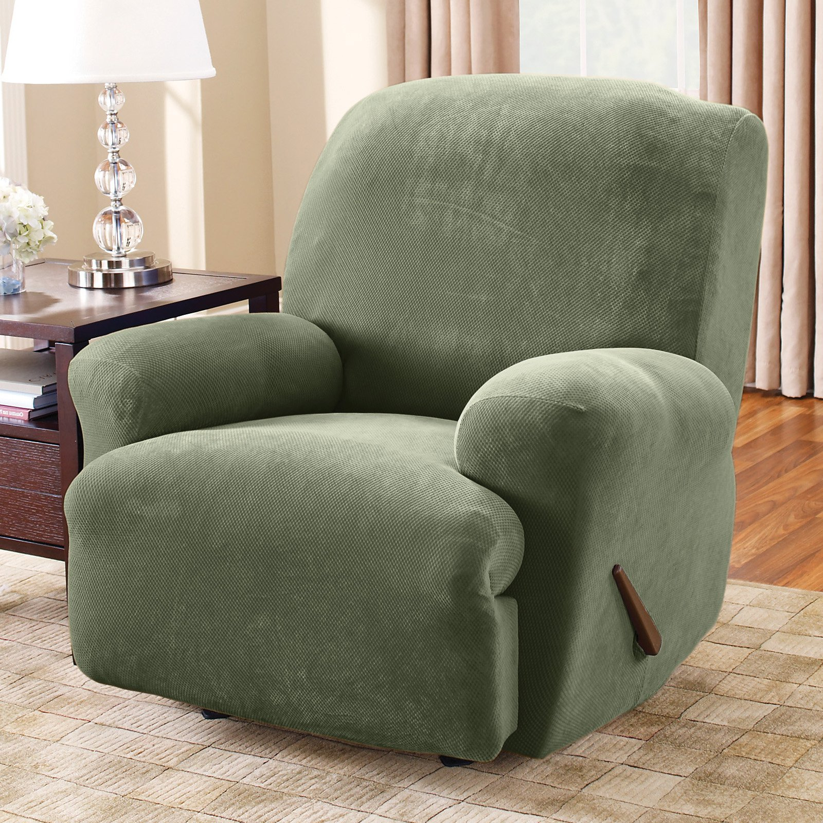Sofas: Glamour Sofa With Recliner Covers Walmart Design Ideas Within Popular Sofa And Chair Slipcovers (View 4 of 20)