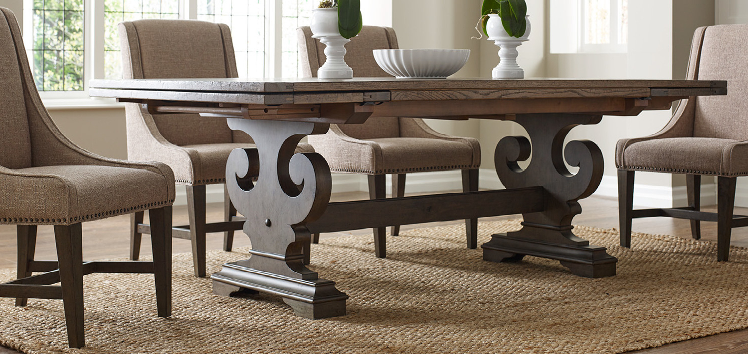 Solid Wood Furniture And Custom Upholsterykincaid Furniture, Nc In Most Recent Sofa Table Chairs (View 19 of 20)