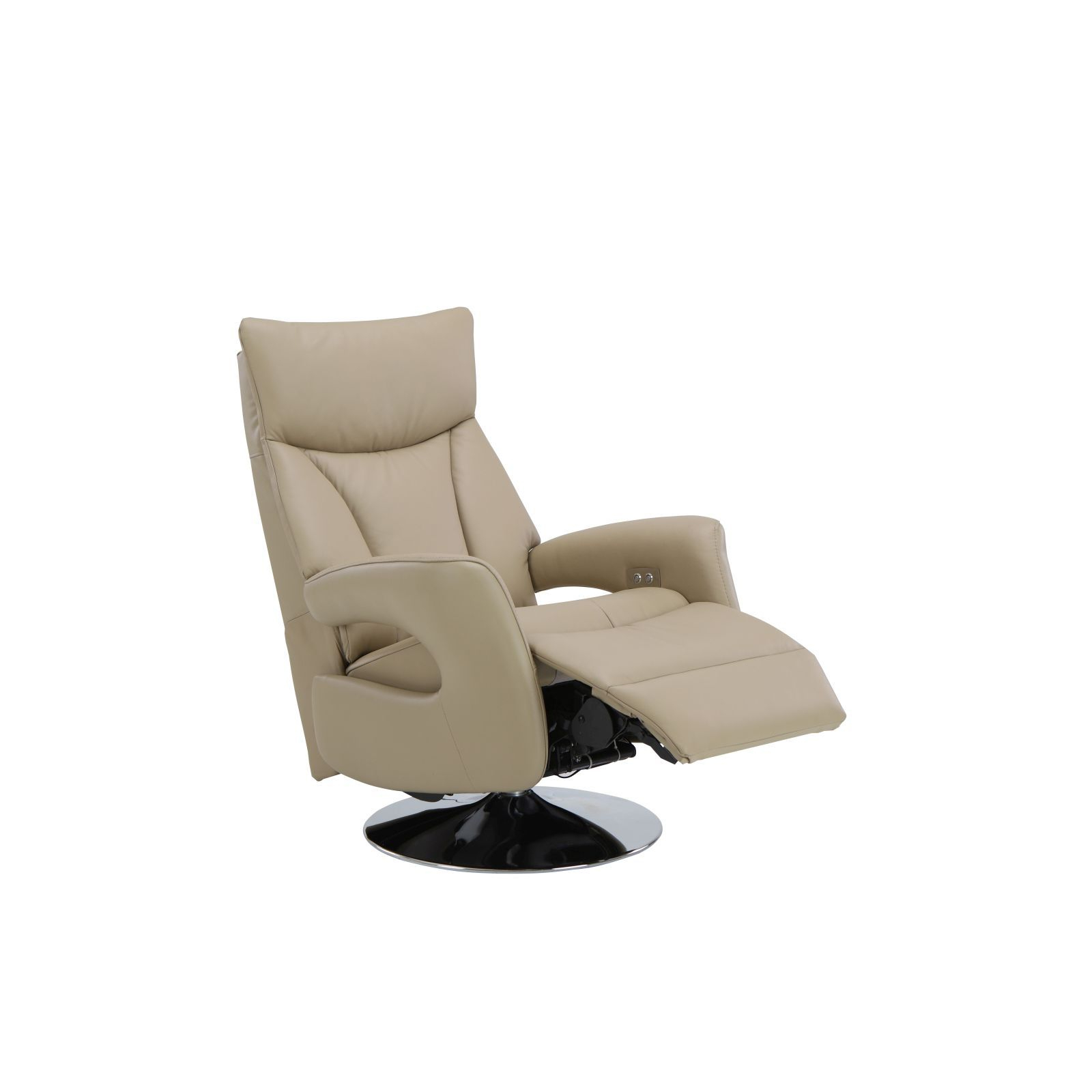 Stanley Power Lift Chair (hl) Half Leather Recliner Sofa – Sofa Regarding Famous Recliner Sofa Chairs (View 13 of 20)