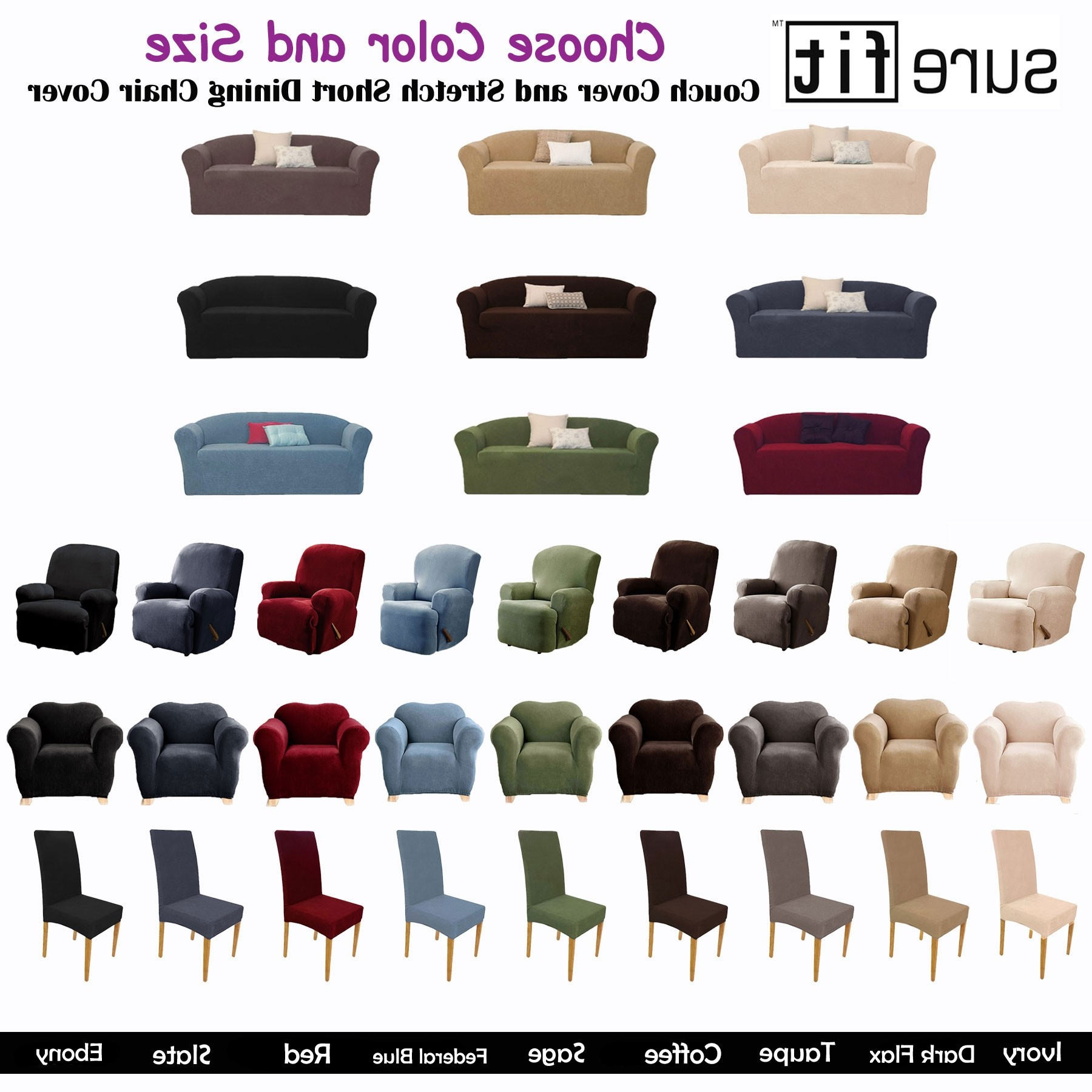 Stretch Sofa Slipcovers Australia At Regarding Sofa And Chair Slipcovers (View 17 of 20)