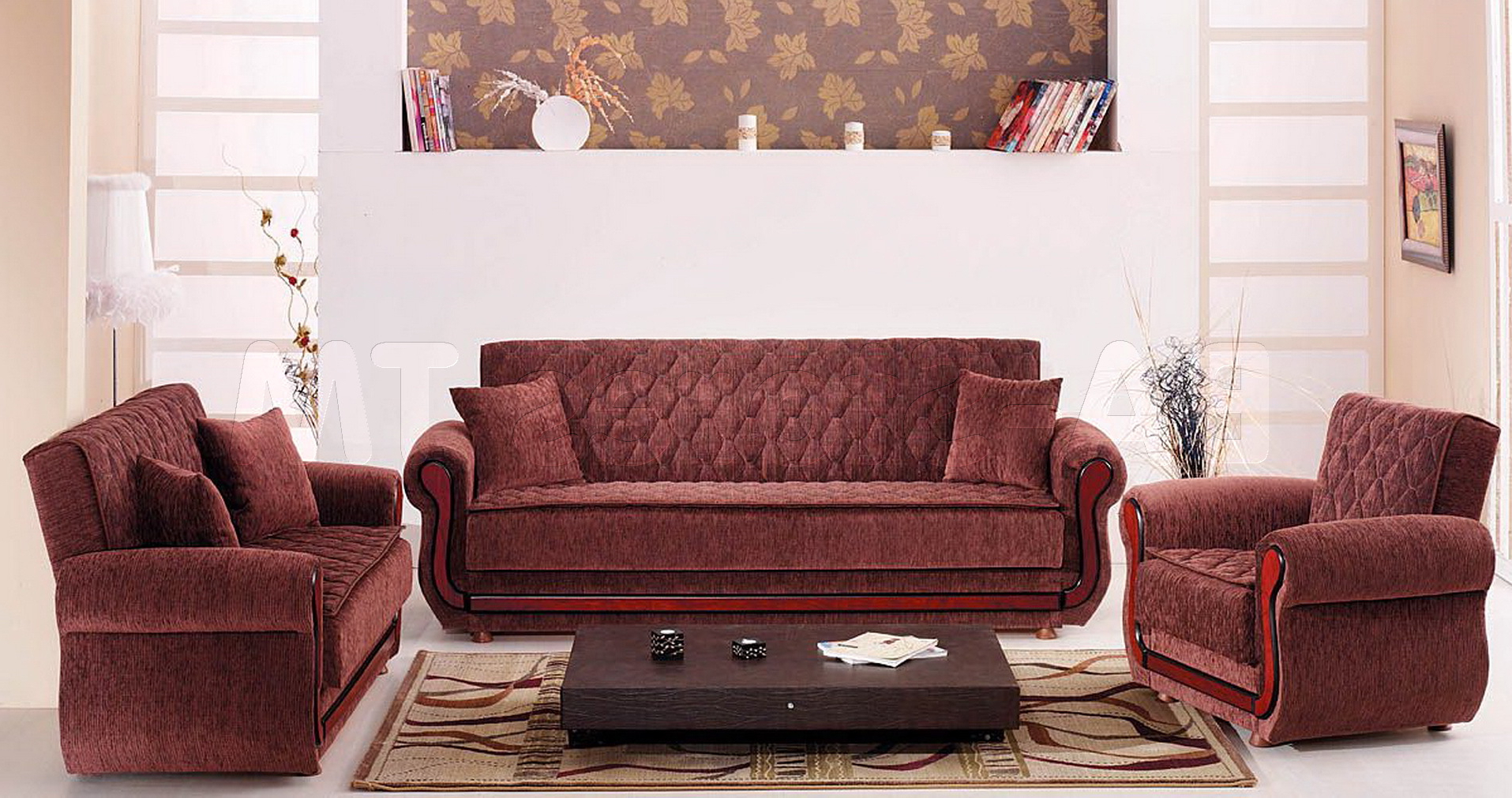 Sunrise Sofa Loveseat Chair Set Sets With Chairs Living Room Sofa With Latest Sofa Loveseat And Chair Set (Gallery 10 of 20)
