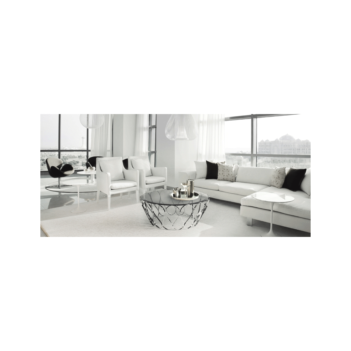 Swanky Interiors In Aquarius Dark Grey Sofa Chairs (View 16 of 20)