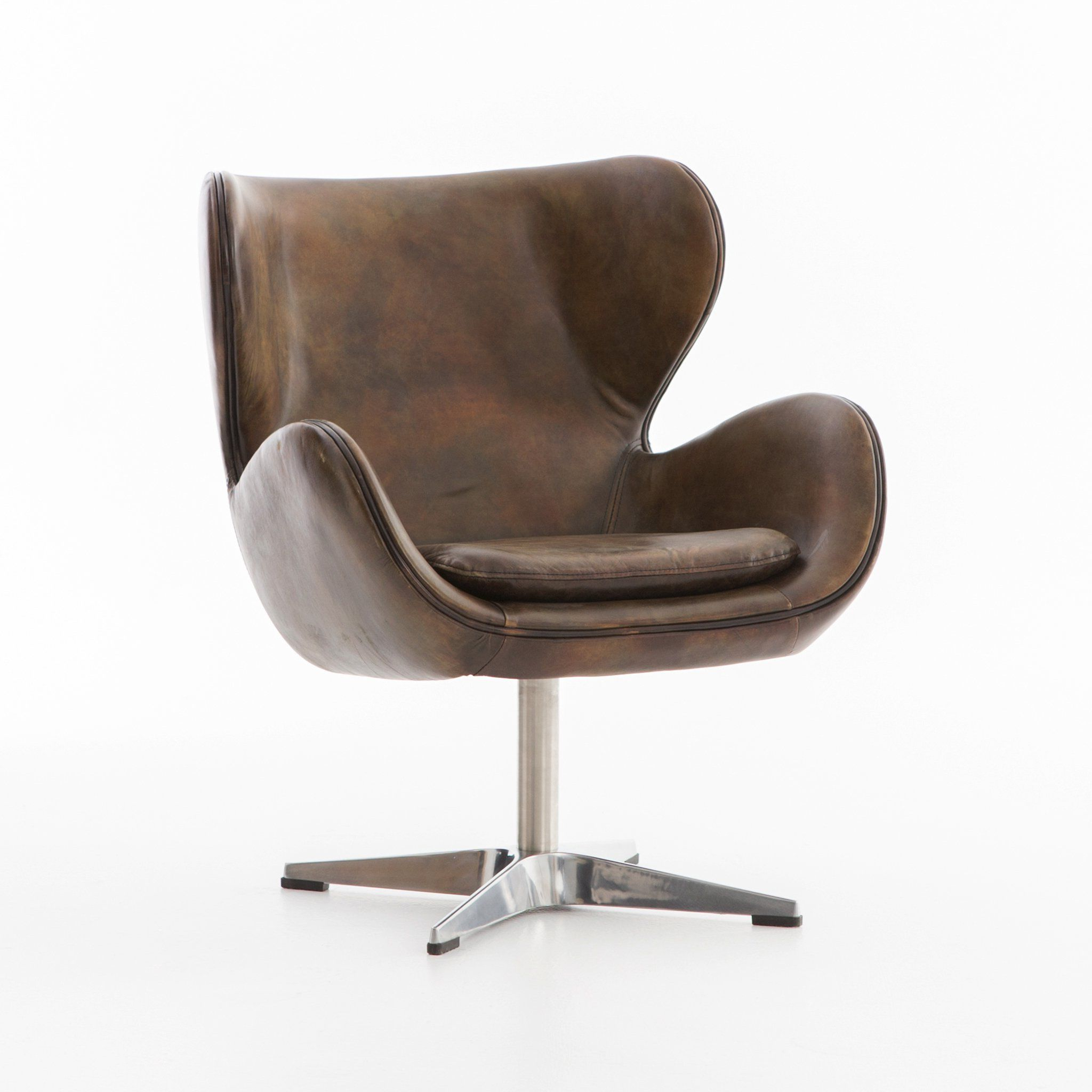 Swivel Chair, Espresso (Gallery 1 of 20)