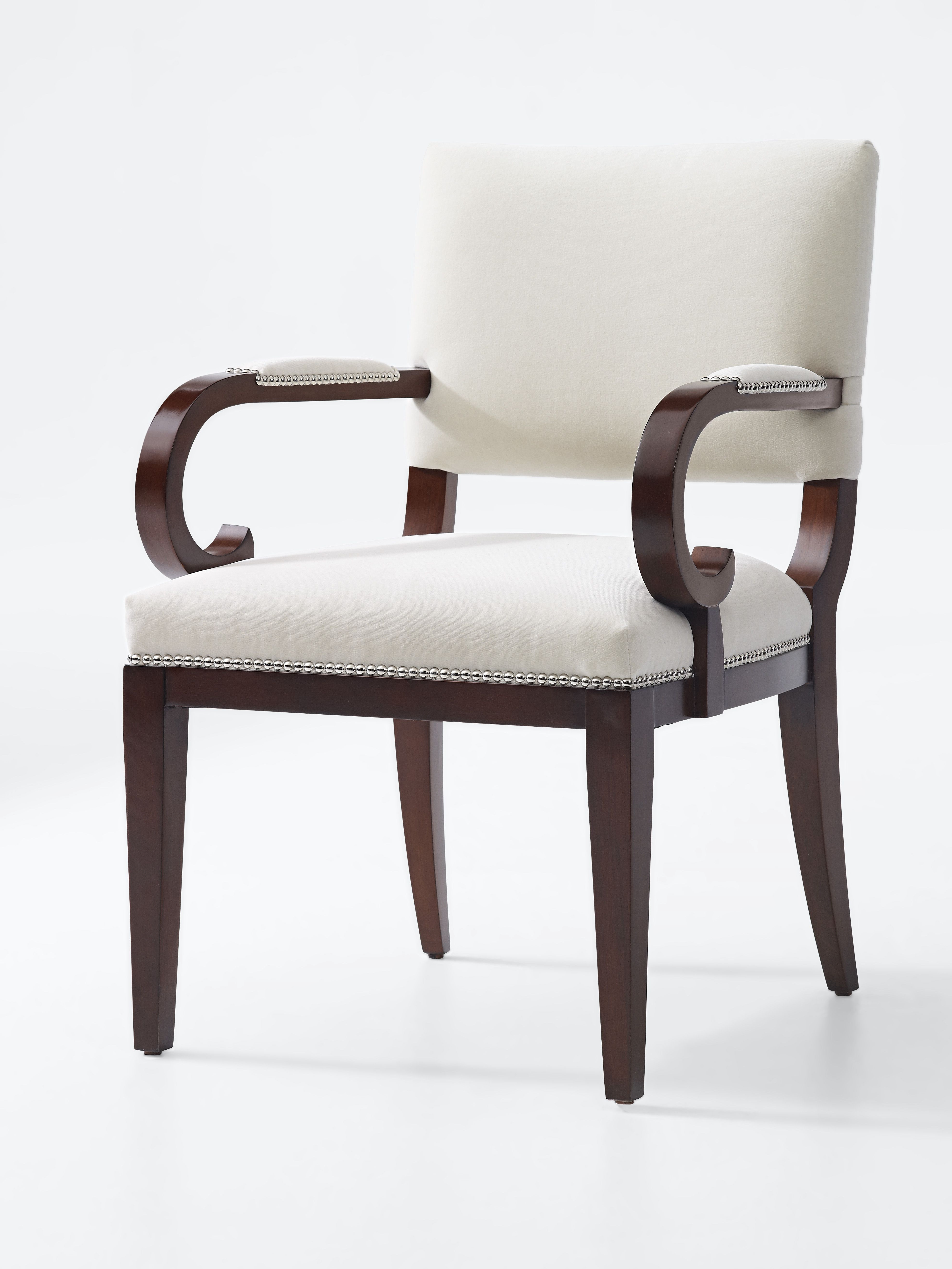 Tate Arm Sofa Chairs Throughout Famous Ralph Lauren Home's Mayfair Dining Arm Chair (View 4 of 20)