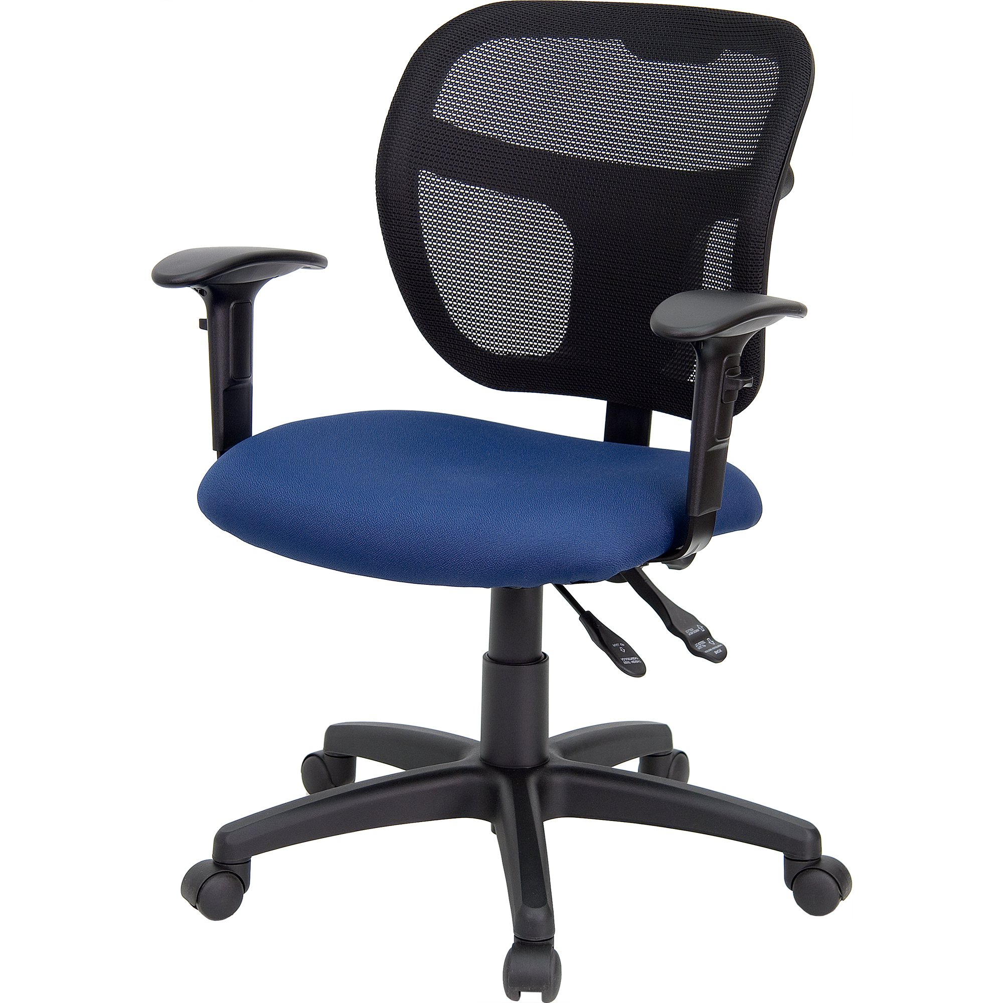 Theo Ii Swivel Chairs Intended For Trendy Shop Theo Mesh Dual Paddle Control Adjustable Swivel Ergonomic (View 14 of 20)
