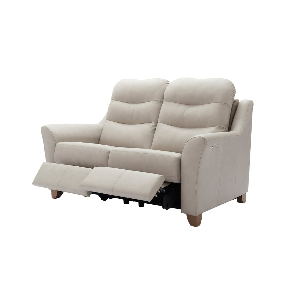 Trendy G Plan Tate Leather 2 Seater Recliner – Smiths The Rink Harrogate Intended For Tate Ii Sofa Chairs (Gallery 7 of 20)