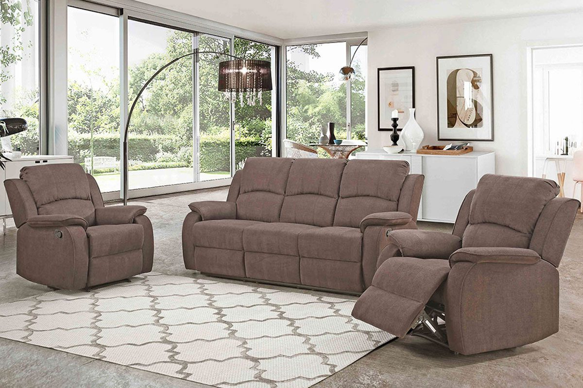 Trendy Recliner Sofa Chairs With Regard To Recliner Sofa – Pluto – Furniture Palace (View 18 of 20)