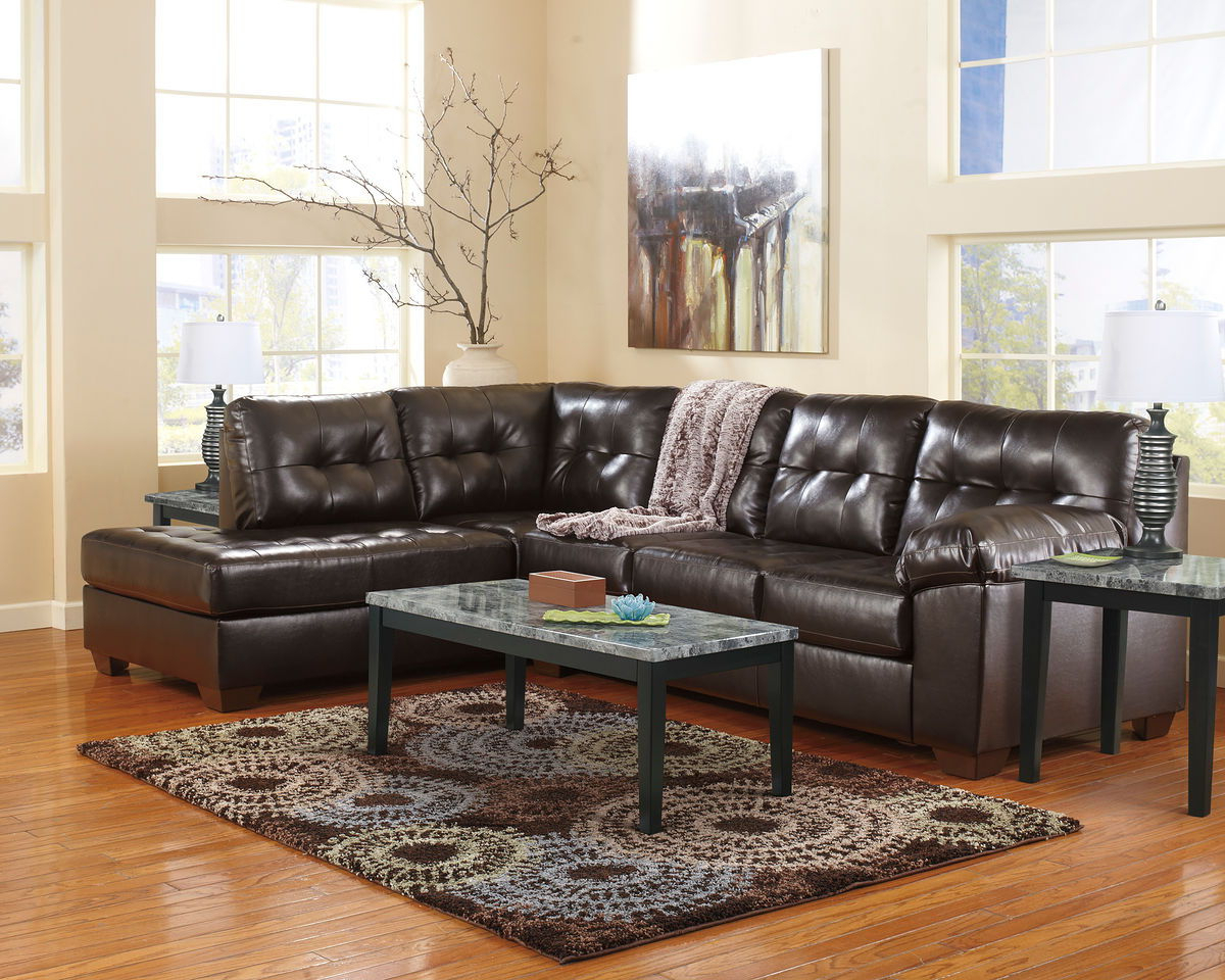 Trendy Rory Sofa Chairs With Regard To Alliston Durablend® – Chocolate – Laf Sofa, Raf Corner Chaise (View 17 of 20)