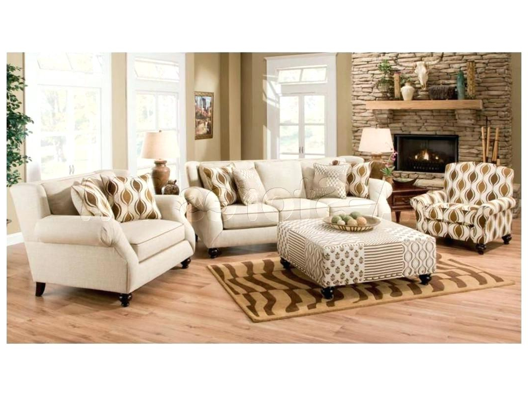Trendy Sofa Chair And Ottoman For Sofa Chair With Ottoman Fun Furnishings 3 Piece Sofa Chair And (Gallery 2 of 20)