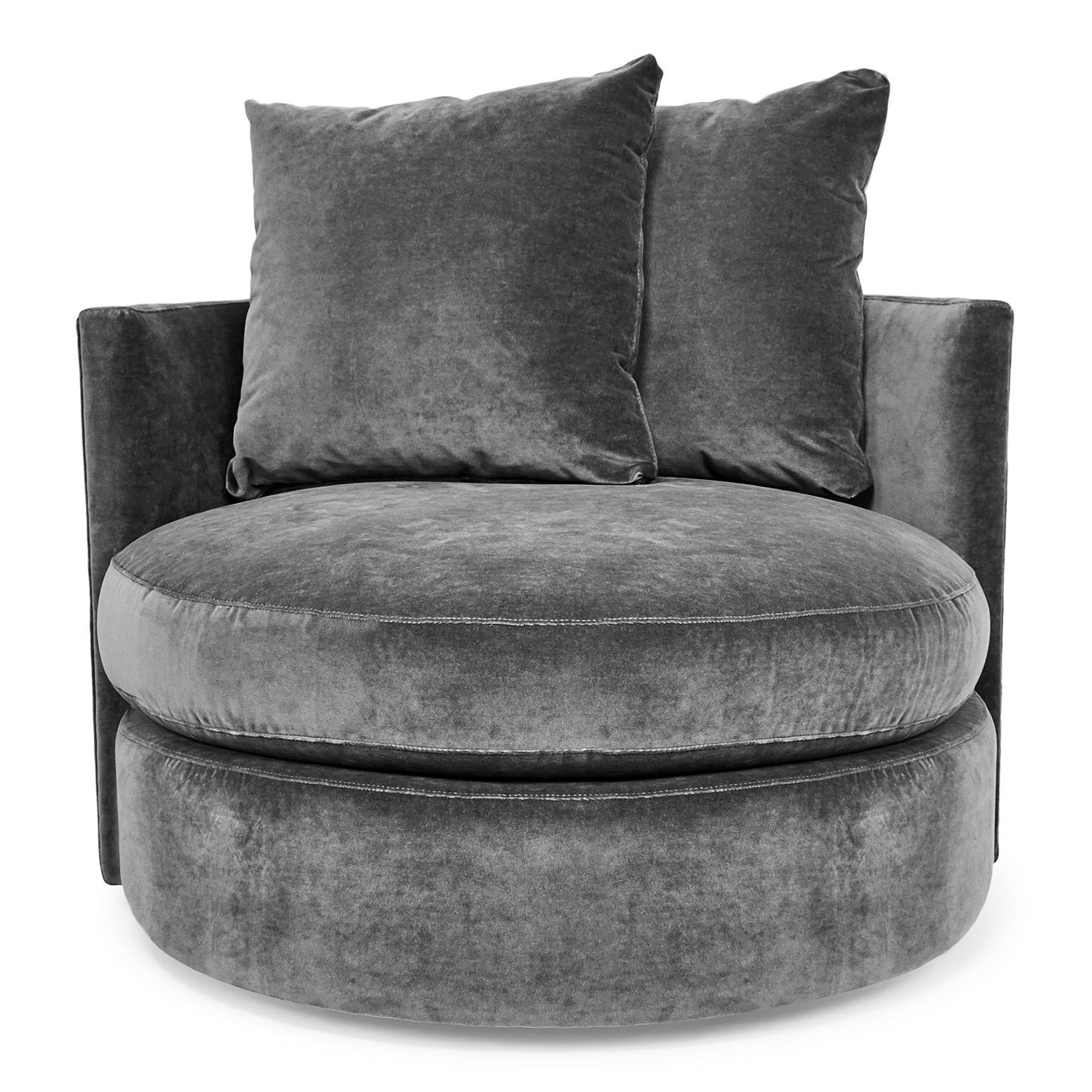 Umber Grey Swivel Accent Chairs With Most Recent Swivel Accent Chairs At Abc Home & Carpet (View 7 of 20)