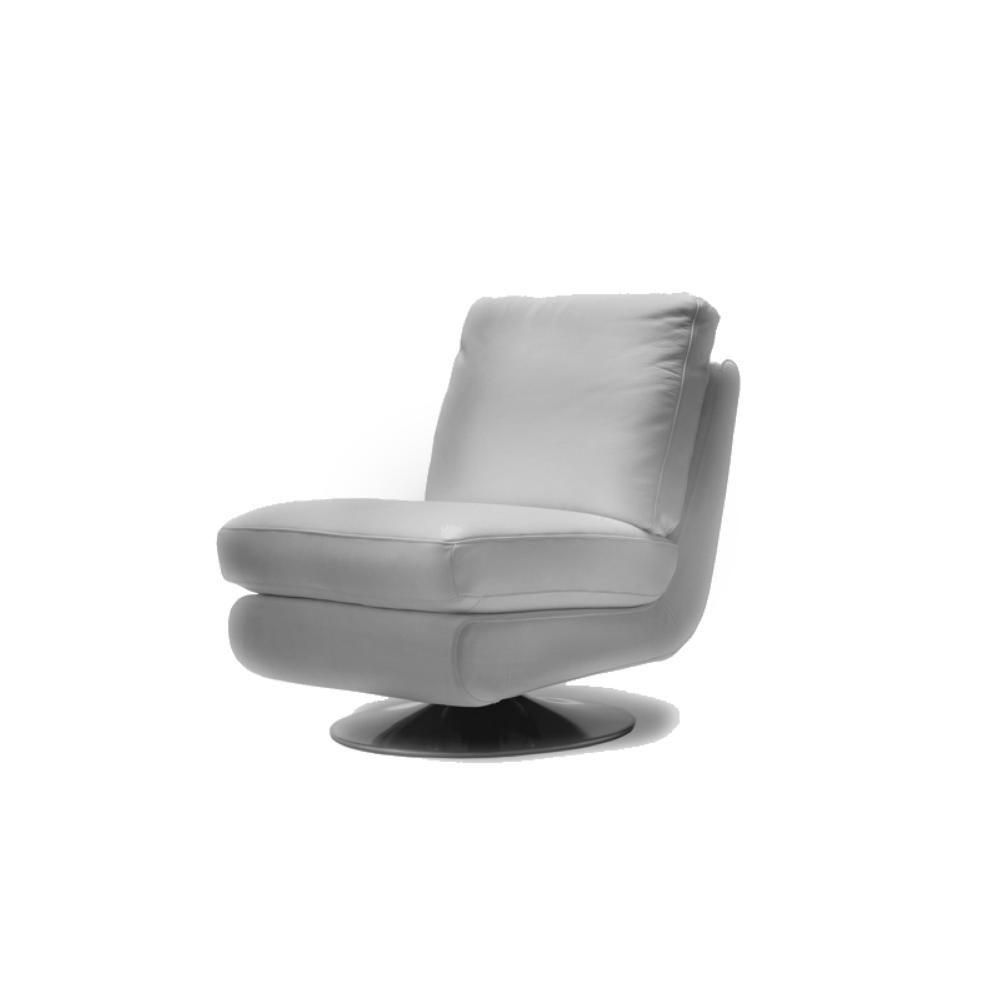 Vancouver Modern Furniture – Gina Leather Swivel Chair Grey – Moe's With Regard To Preferred Gina Grey Leather Sofa Chairs (Gallery 12 of 20)