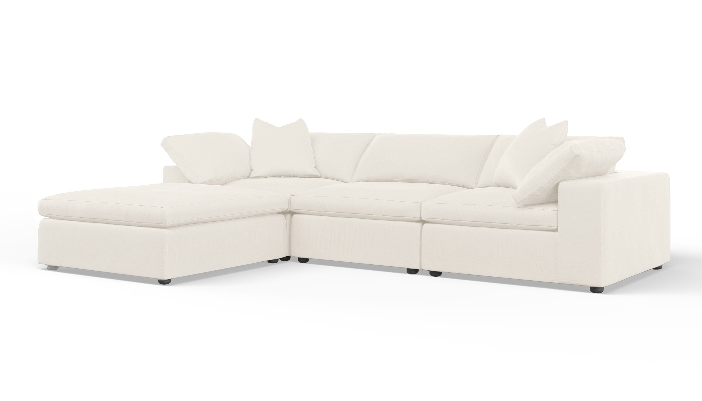 Wayfair Custom Upholstery™ Cameron Reversible Modular Sectional With Inside Popular Cameron Sofa Chairs (View 20 of 20)
