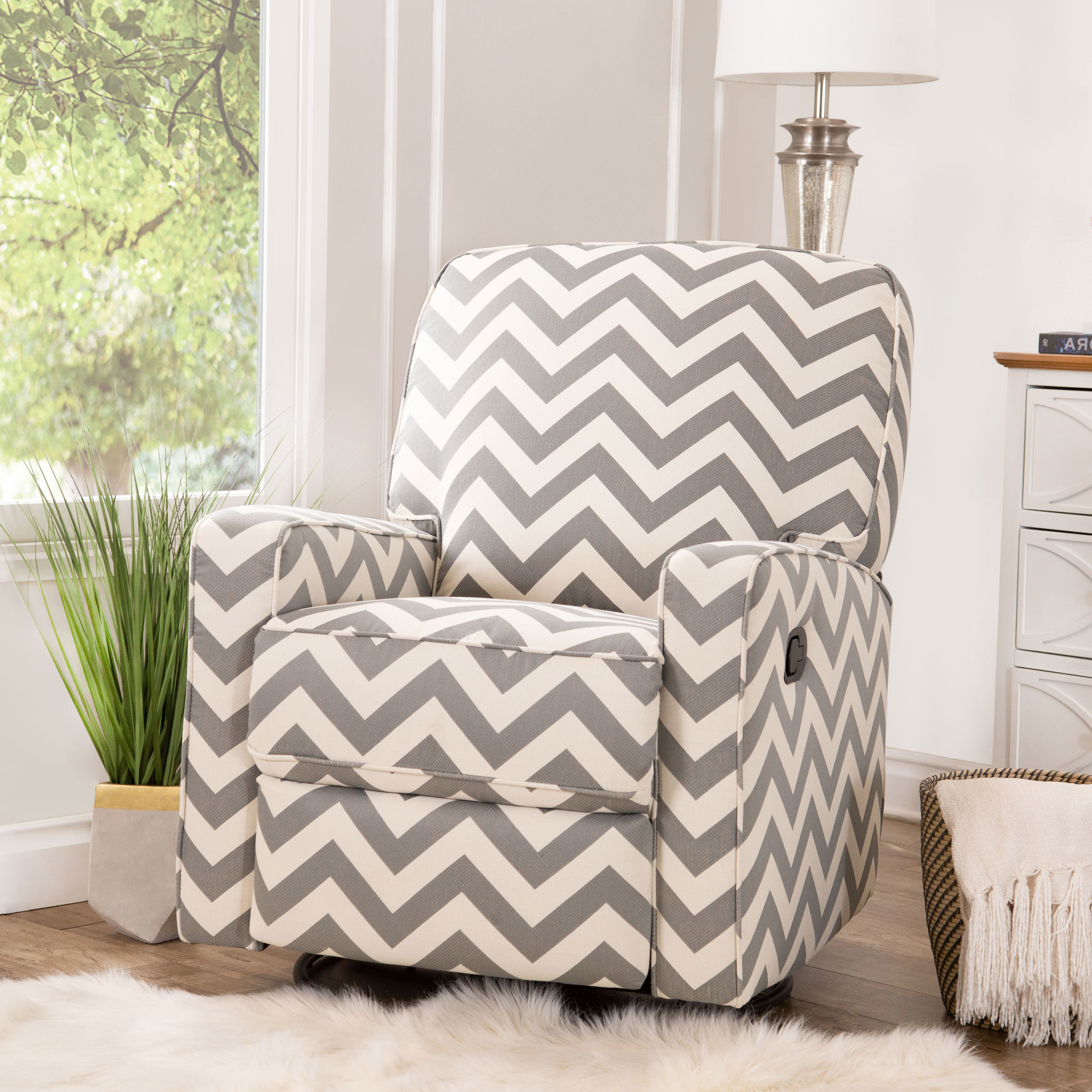 Wayfair Pertaining To 2019 Katrina Blue Swivel Glider Chairs (View 10 of 20)