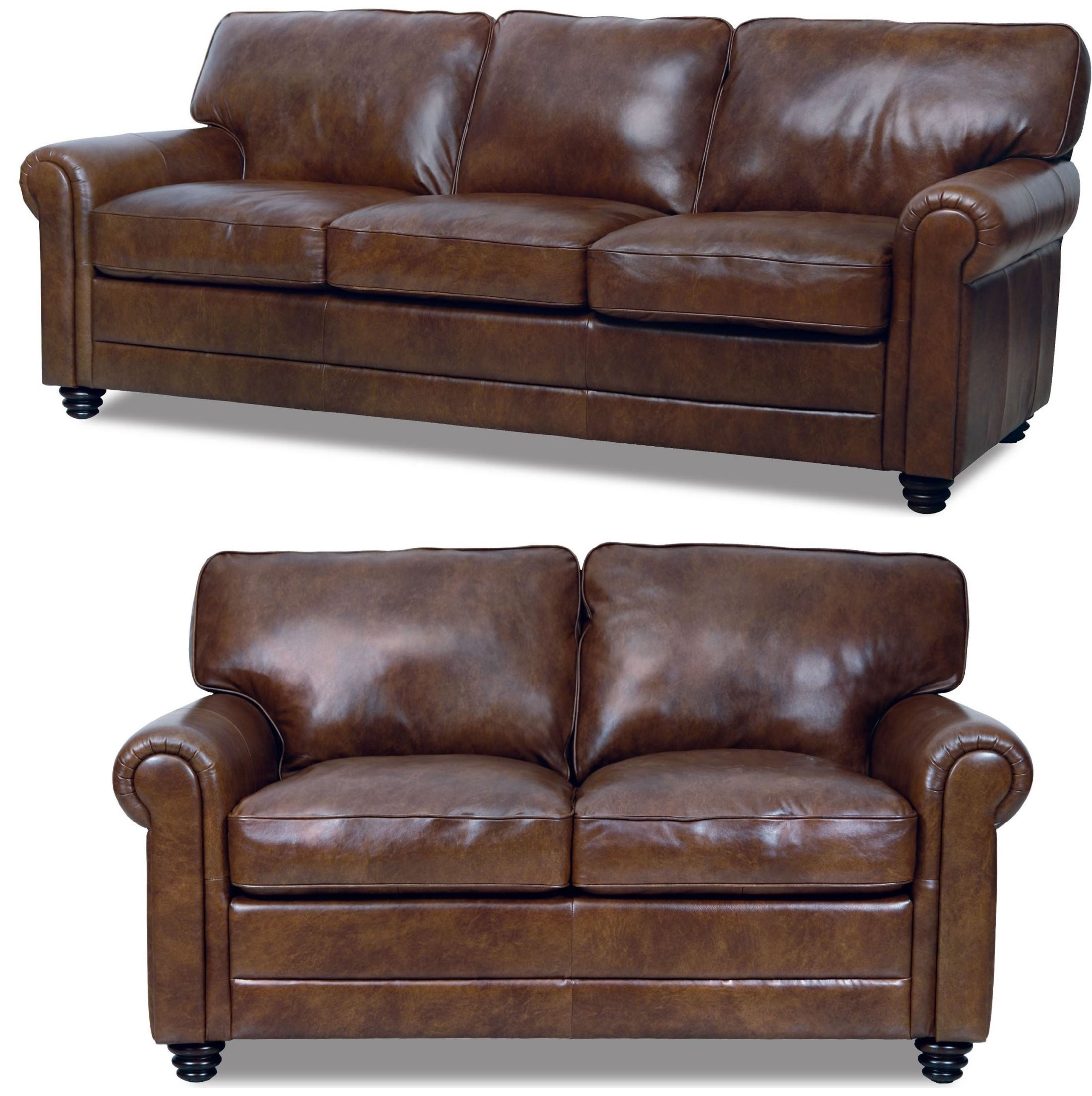 Well Known Andrew Italian Leather Living Room Set From Luke Leather (andrew Within Andrew Leather Sofa Chairs (View 10 of 20)