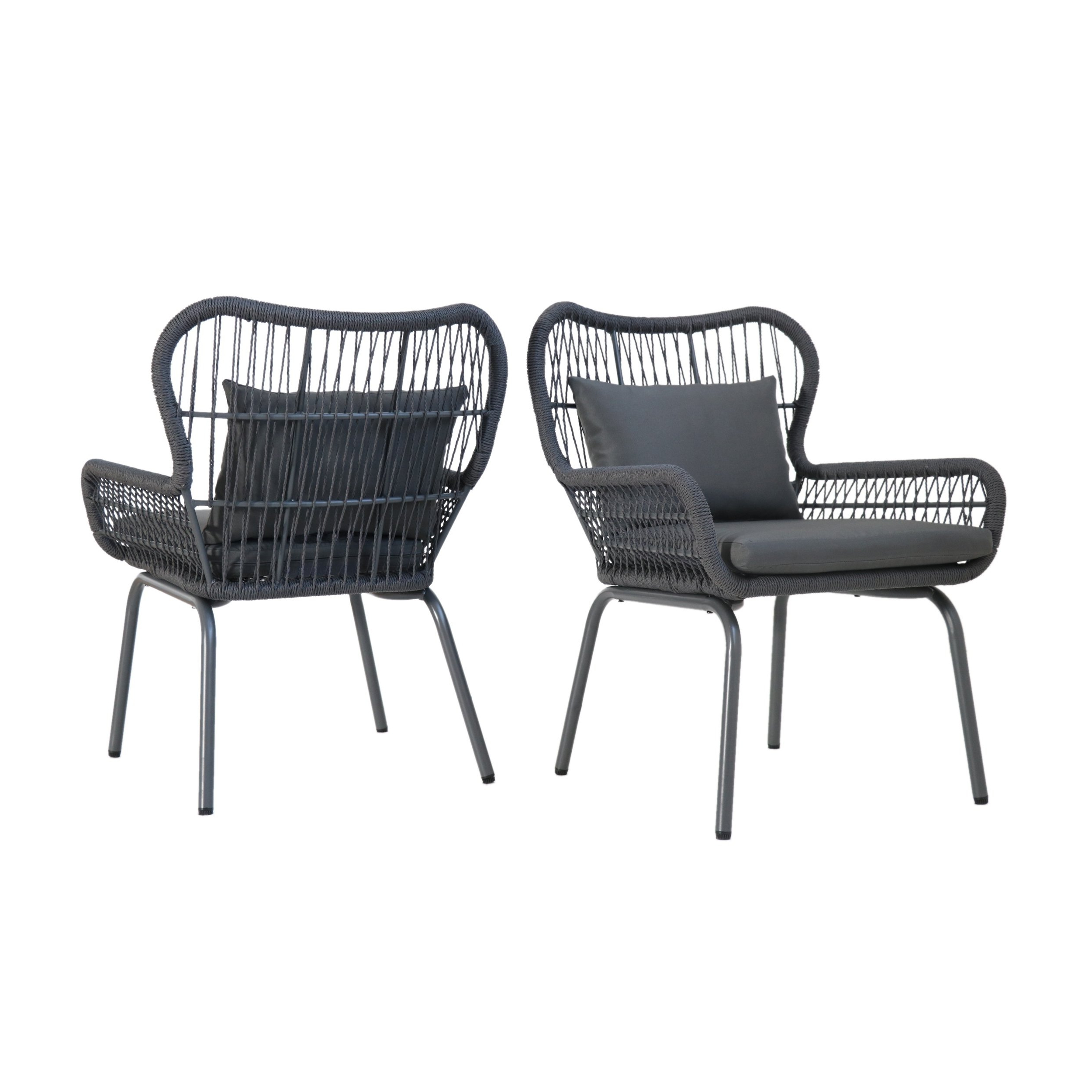 Well Known Buy Grey, 2 Outdoor Sofas, Chairs & Sectionals Online At Overstock Intended For Alder Grande Ii Swivel Chairs (Gallery 12 of 20)