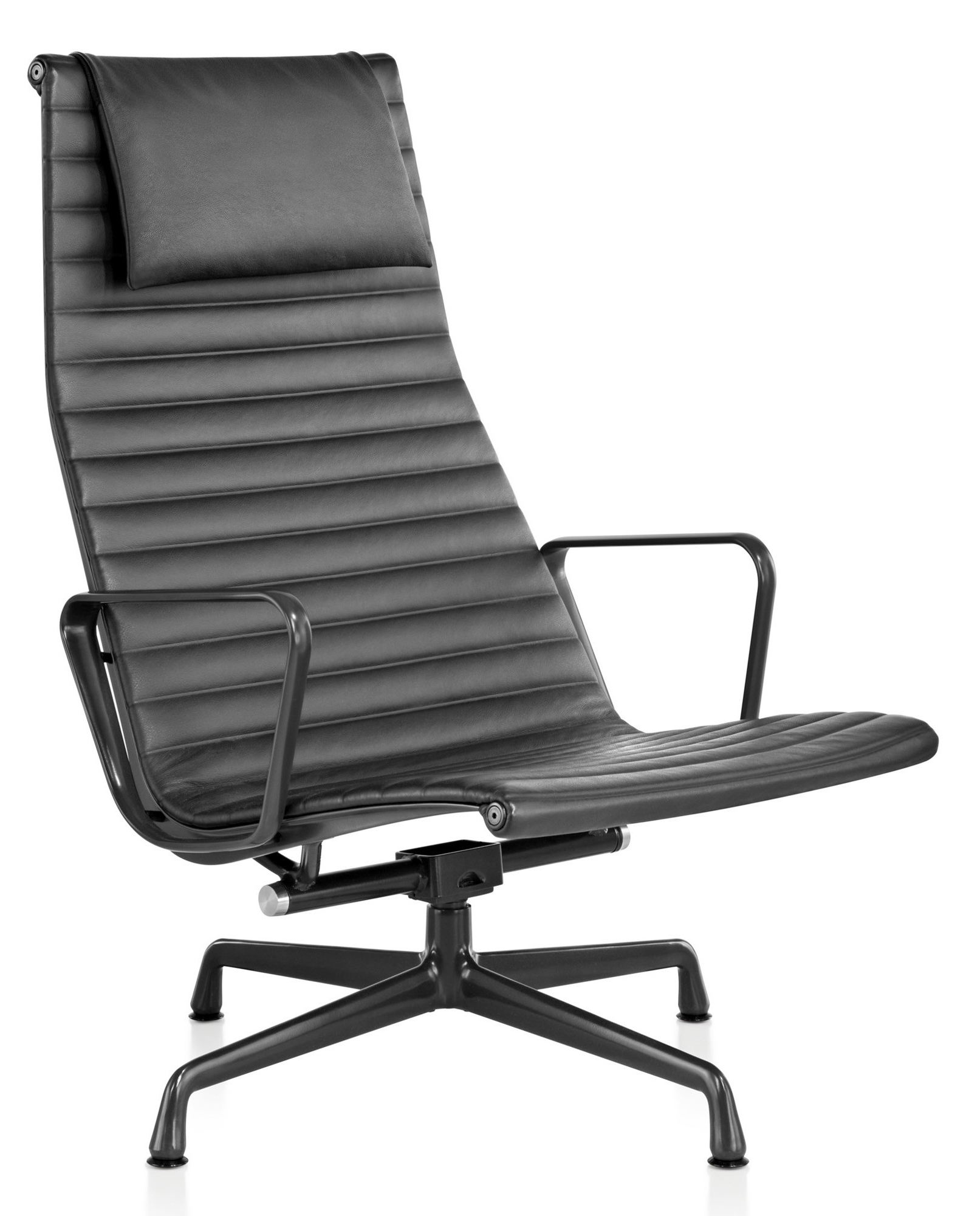 Well Known Chadwick Gunmetal Swivel Chairs Within Herman Miller Eames® Aluminum Group – Lounge Chair – Gr Shop Canada (View 19 of 20)