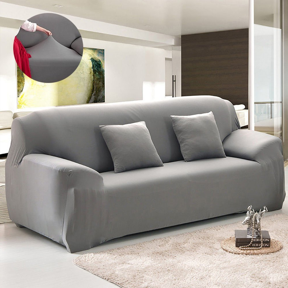 Well Known Couch Sofa Covers,1 4 Seater Sofa Furniture Protector Home Full Pertaining To Slipcovers For Sofas And Chairs (View 20 of 20)