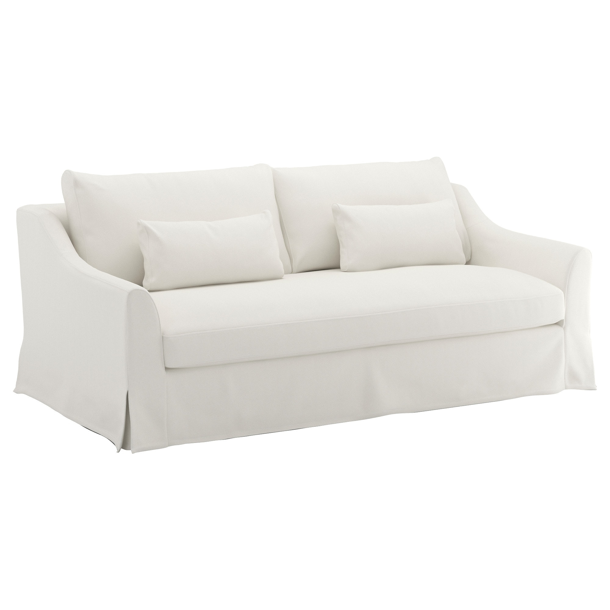 Well Known Färlöv 3 Seat Sofa Flodafors White – Ikea Pertaining To Ikea Sofa Chairs (Gallery 15 of 20)
